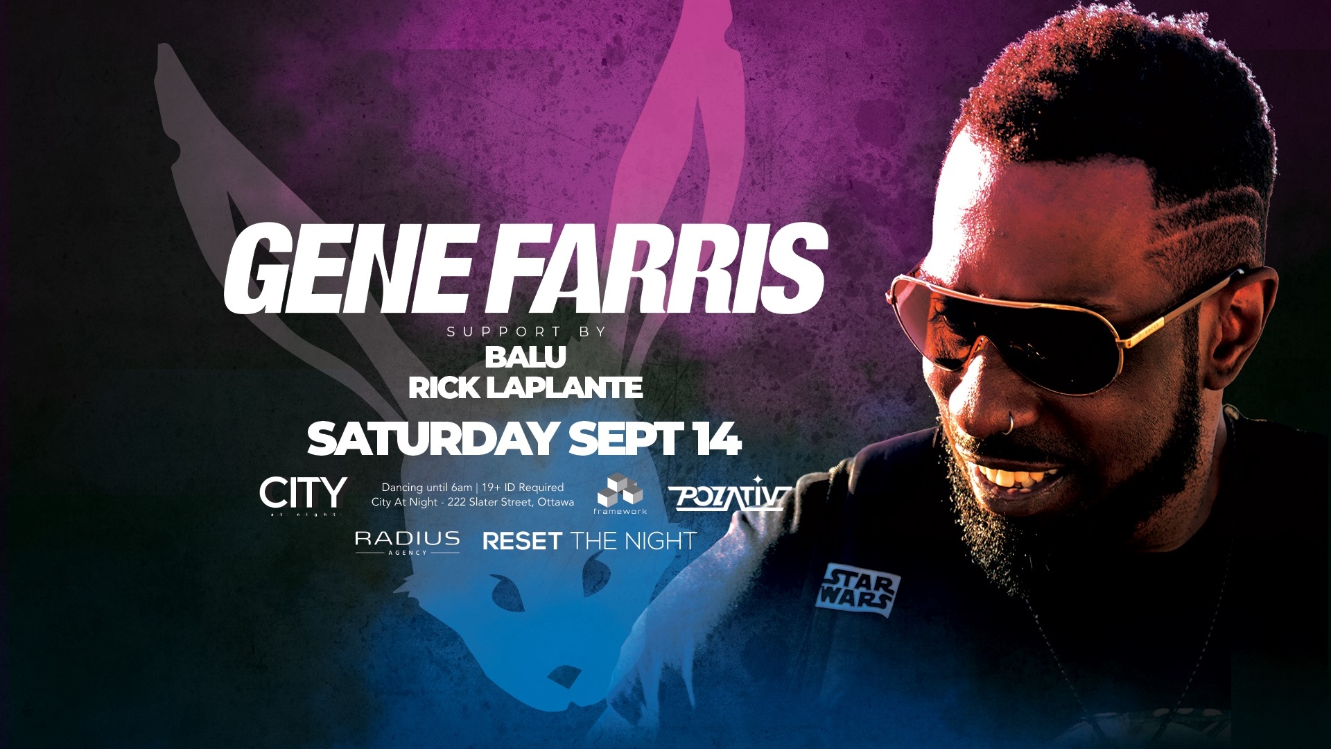 Gene Farris at White Rabbit: All Night Dancing 11pm to 6am