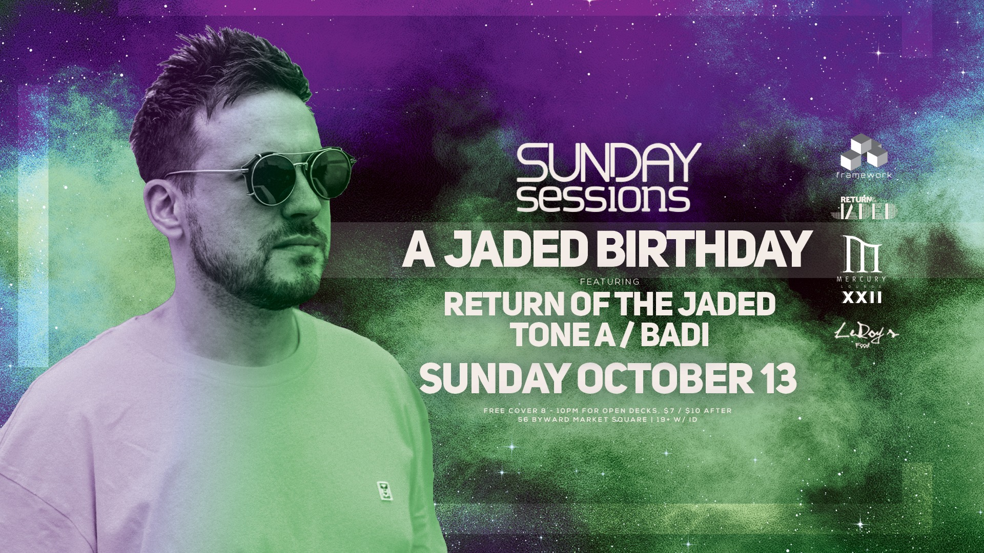 A Jaded Birthday at Sunday Sessions