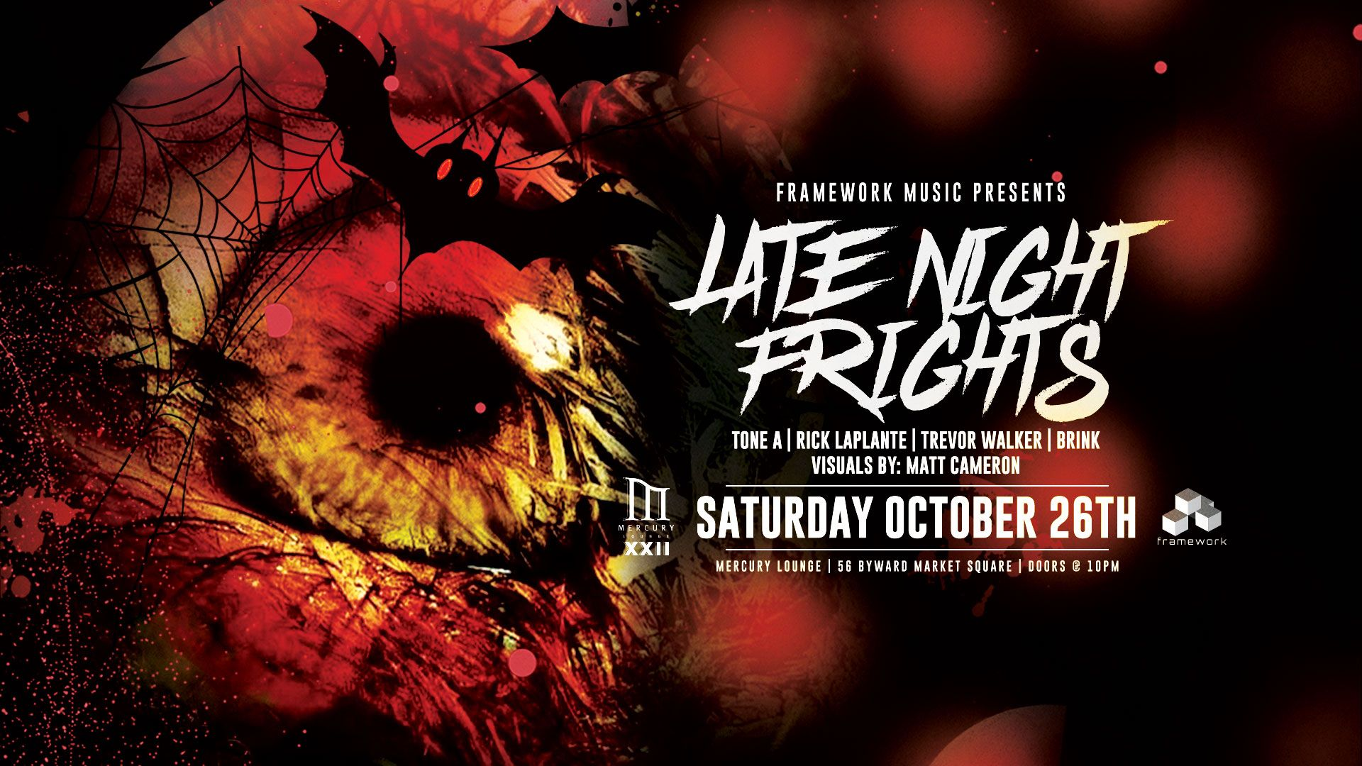 Late Night Frights: Halloween with Framework Music