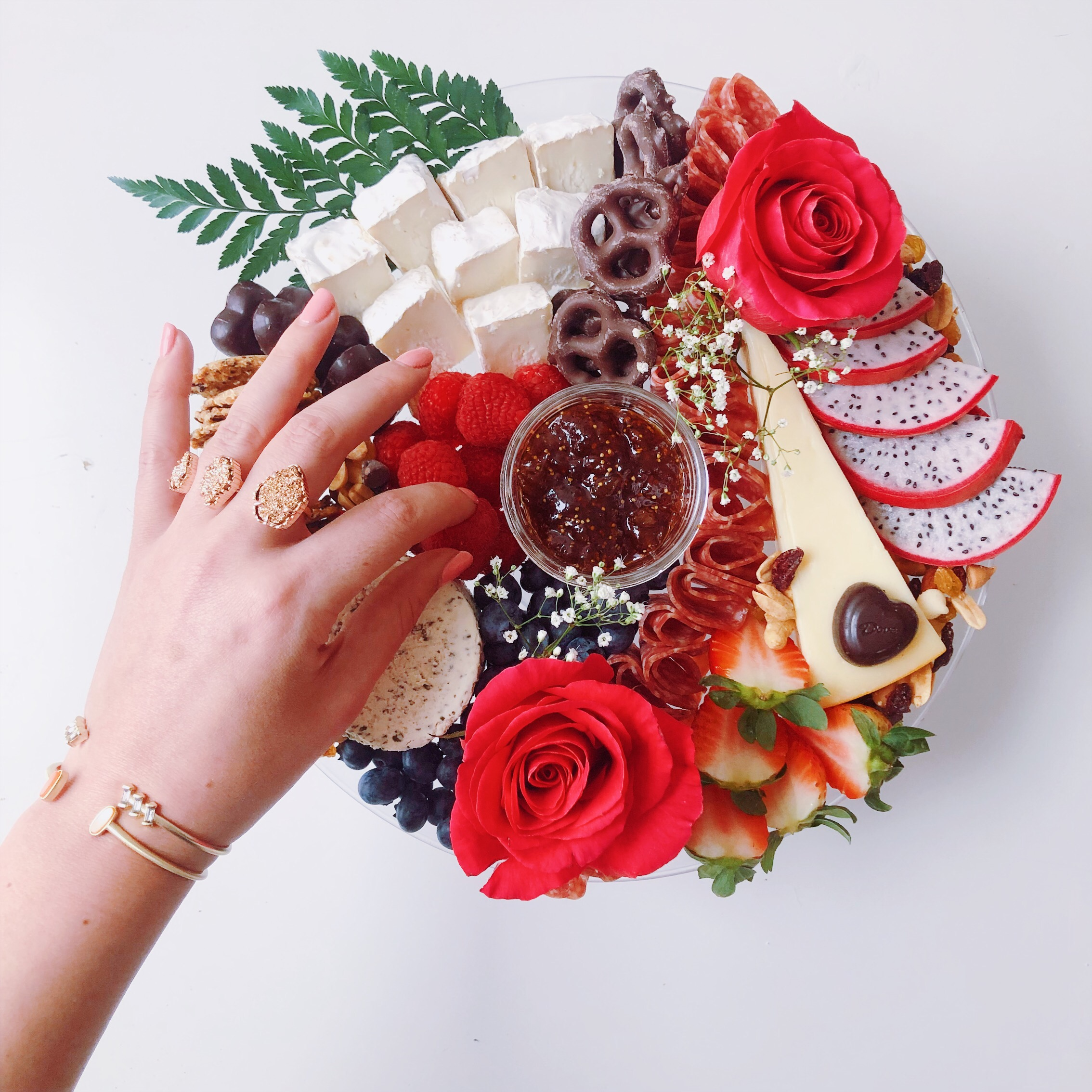Kendra Scott Bachelor Inspired Cheese Plate