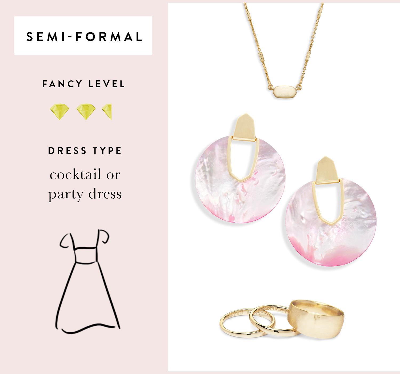 Fern Pendant Necklace, Diane Statement Earrings, Terra Ring Set of 3