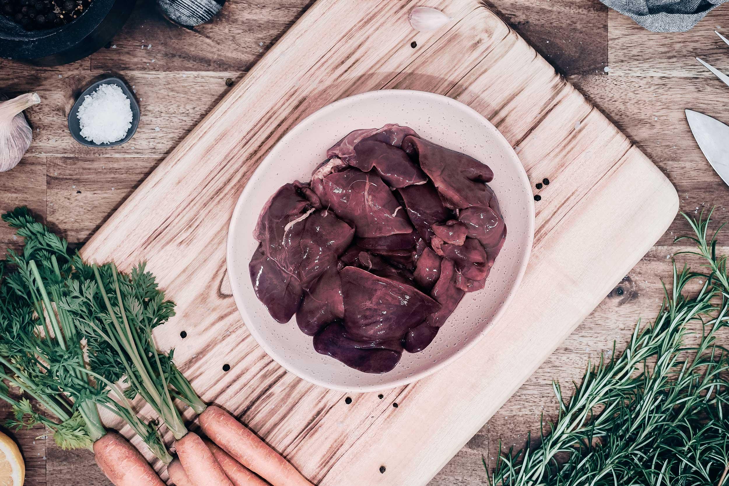 Topi Open Range Chef's Cuts - Chicken Livers
