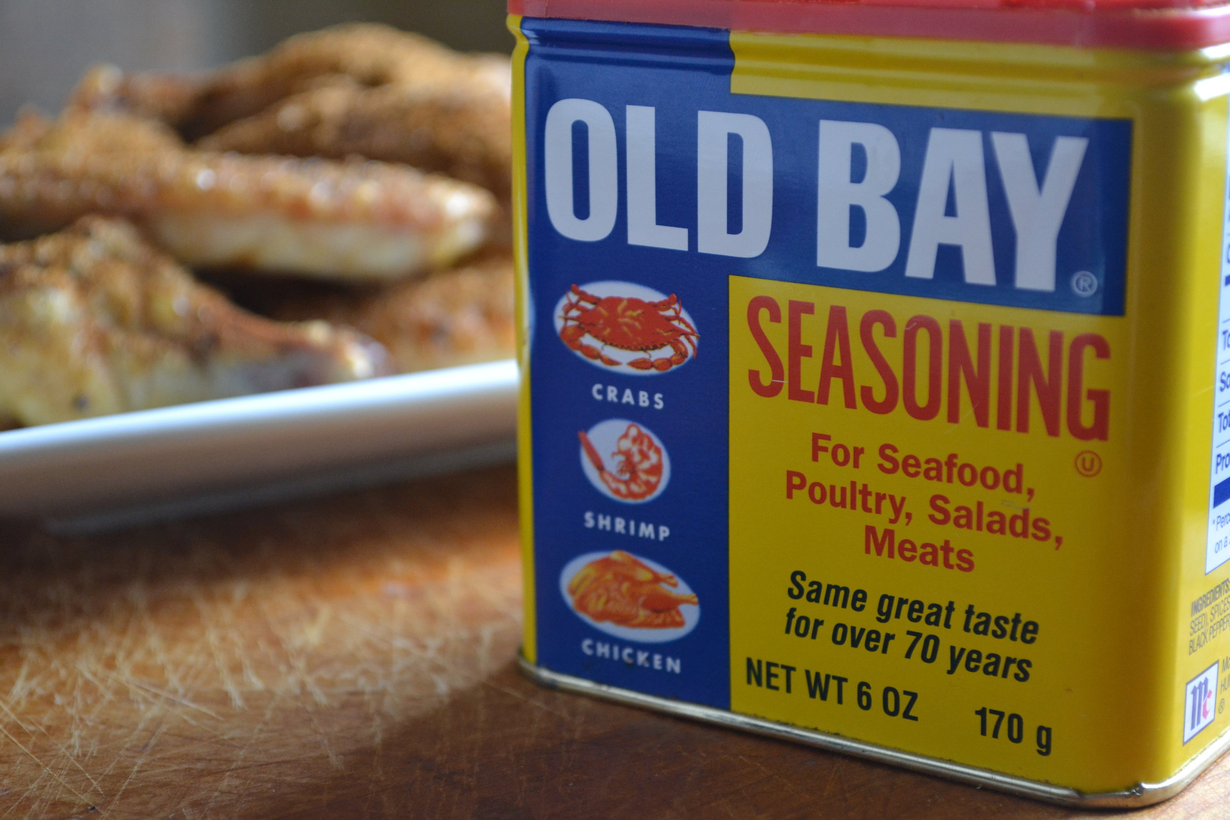 Old Bay and wings