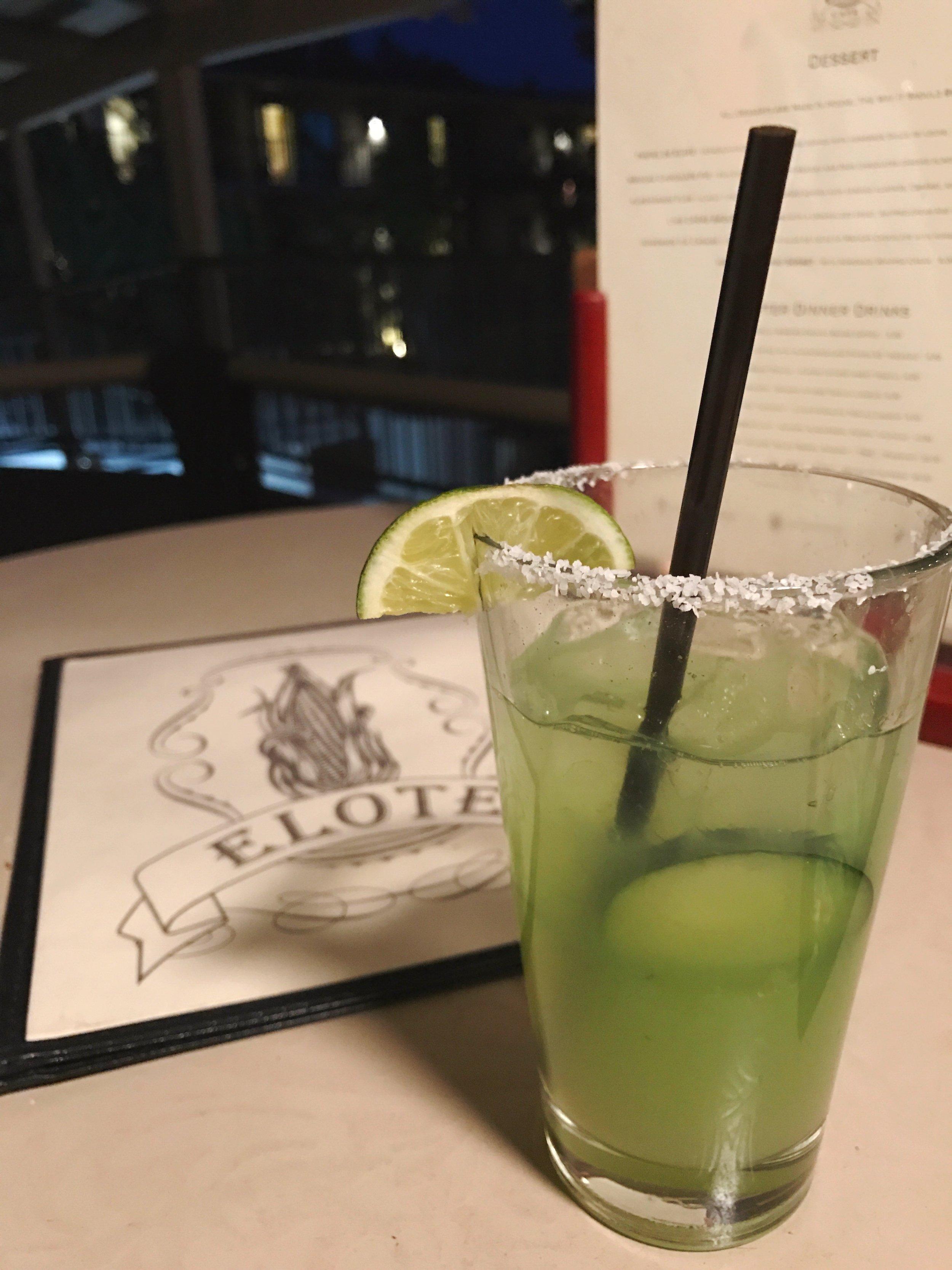 NA Cucumber Limeade at Elote Cafe   Sedona Babymoon Itinerary   BySarahRae.com