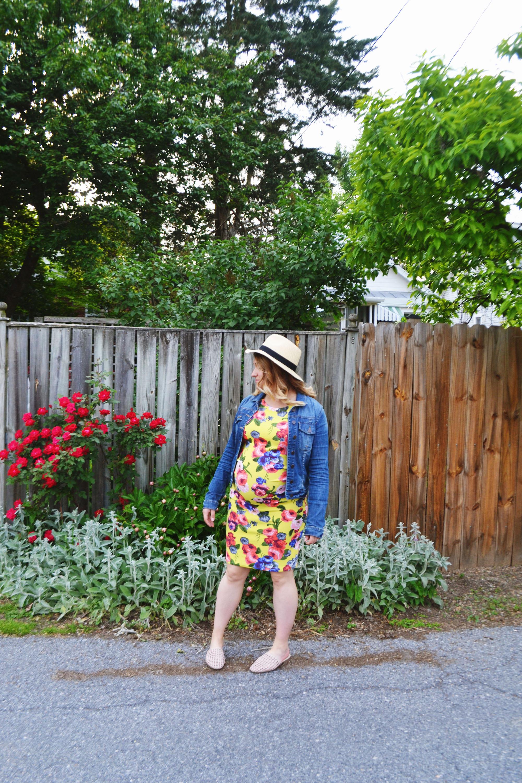 Dressing the Bump - Flower Power 3 | Maternity Style | BySarahRae.com