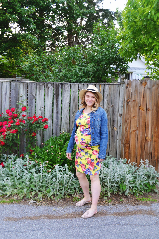 Dressing the Bump - Flower Power 4 | Maternity Style | BySarahRae.com