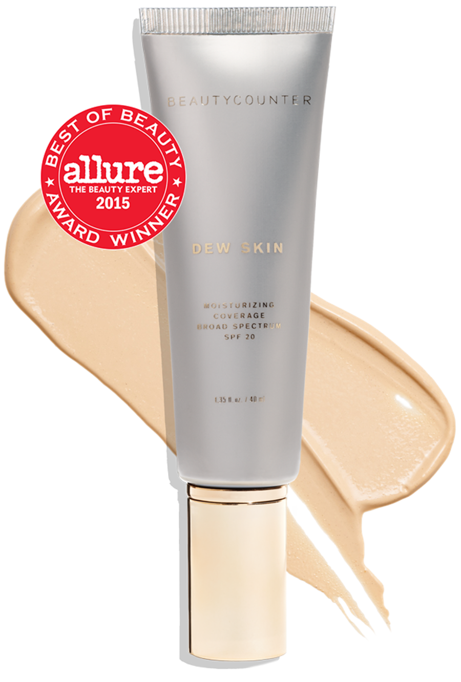 My every day routine consists of only a few things and one of them is making sure I have some sunscreen on my face. With the dew tint, I get sun protection PLUS a nice glow and a touch of coverage to even out my skin tone. I use the No. 2 shade.