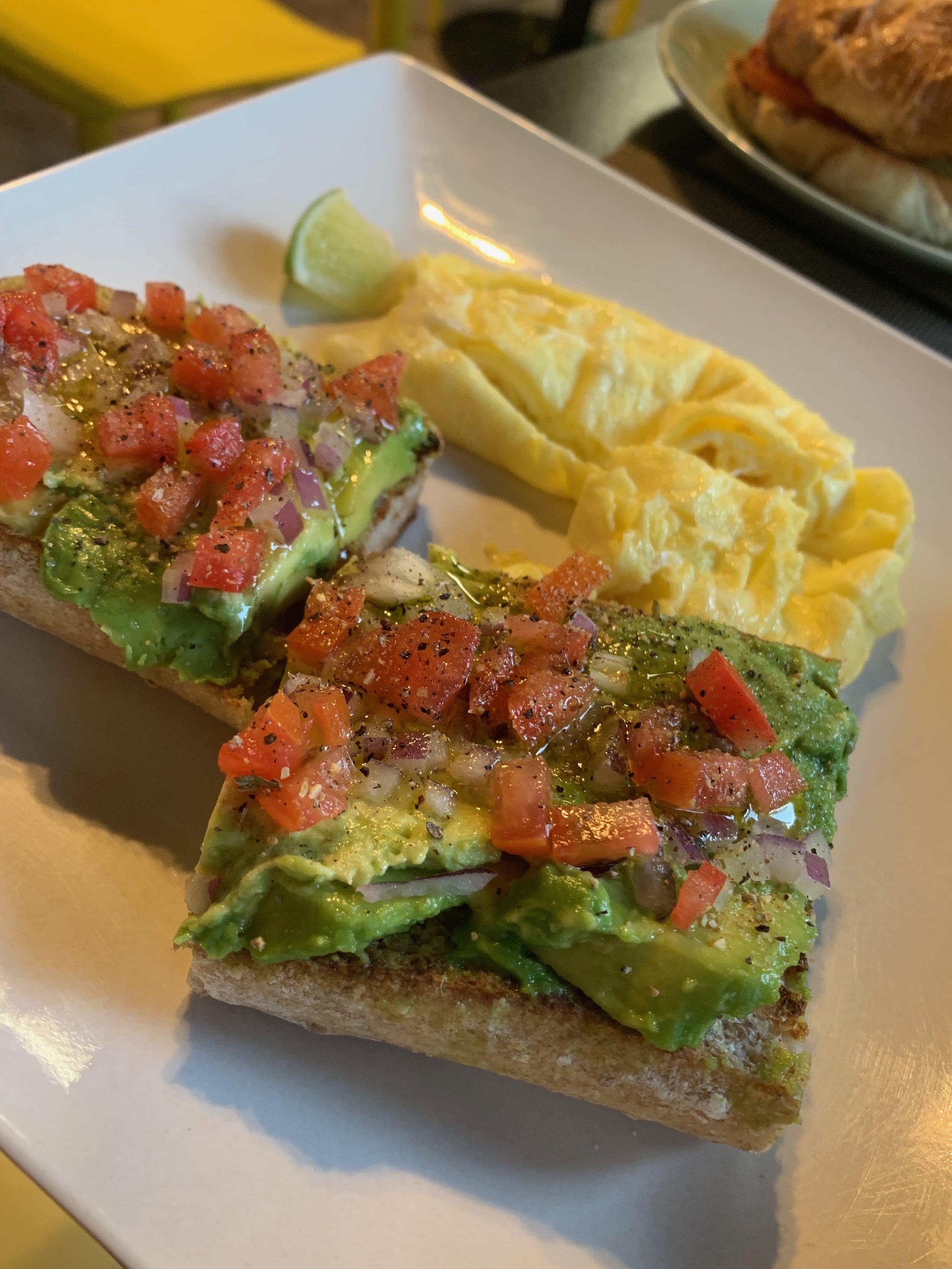 Avocado Toast | Keys Coffee Co | Key West | Breakfast | By Sarah Rae