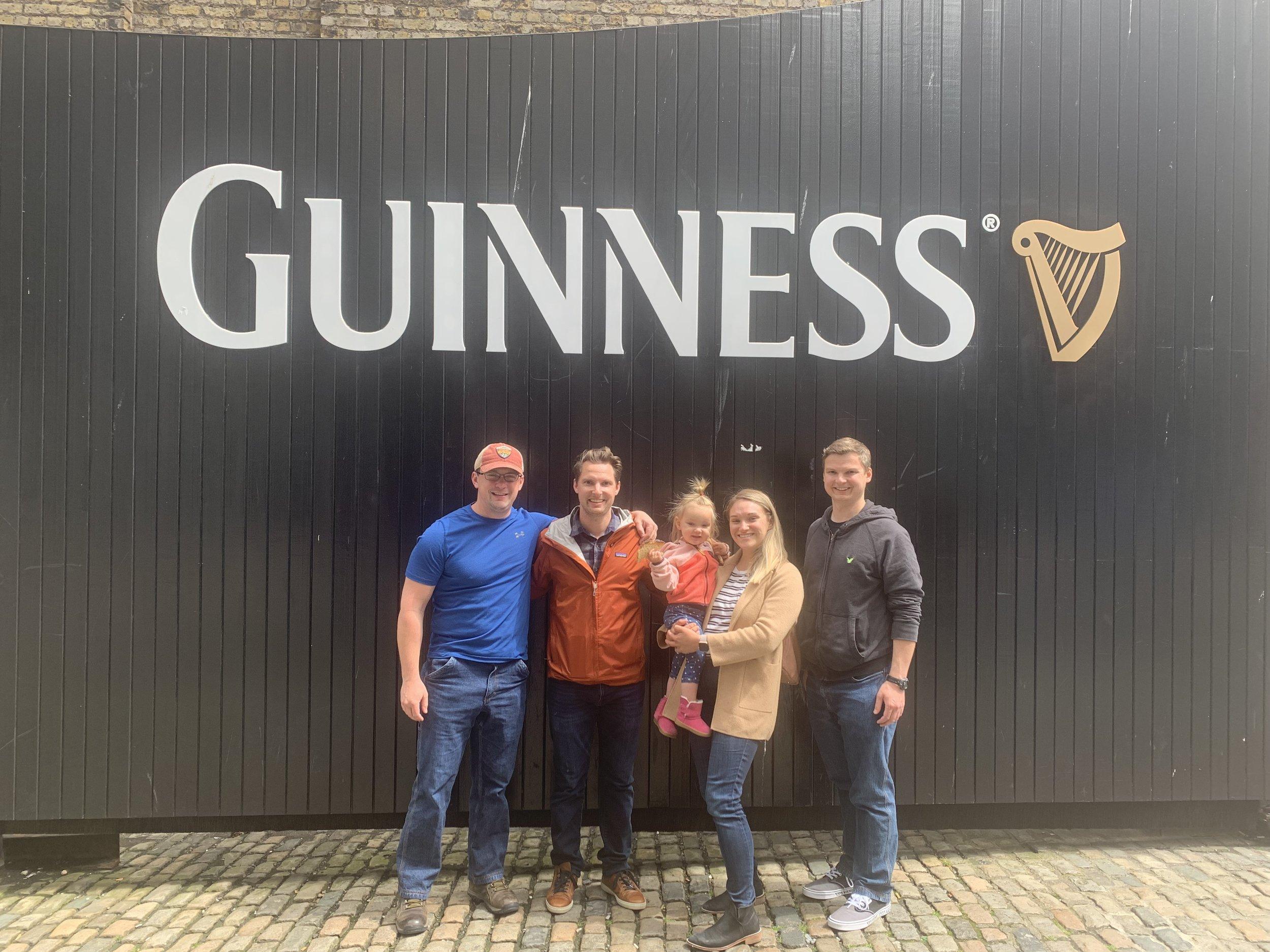 The Kurtanich Kids at The Guinness Storehouse | Visit Dublin | BySarahRae.com