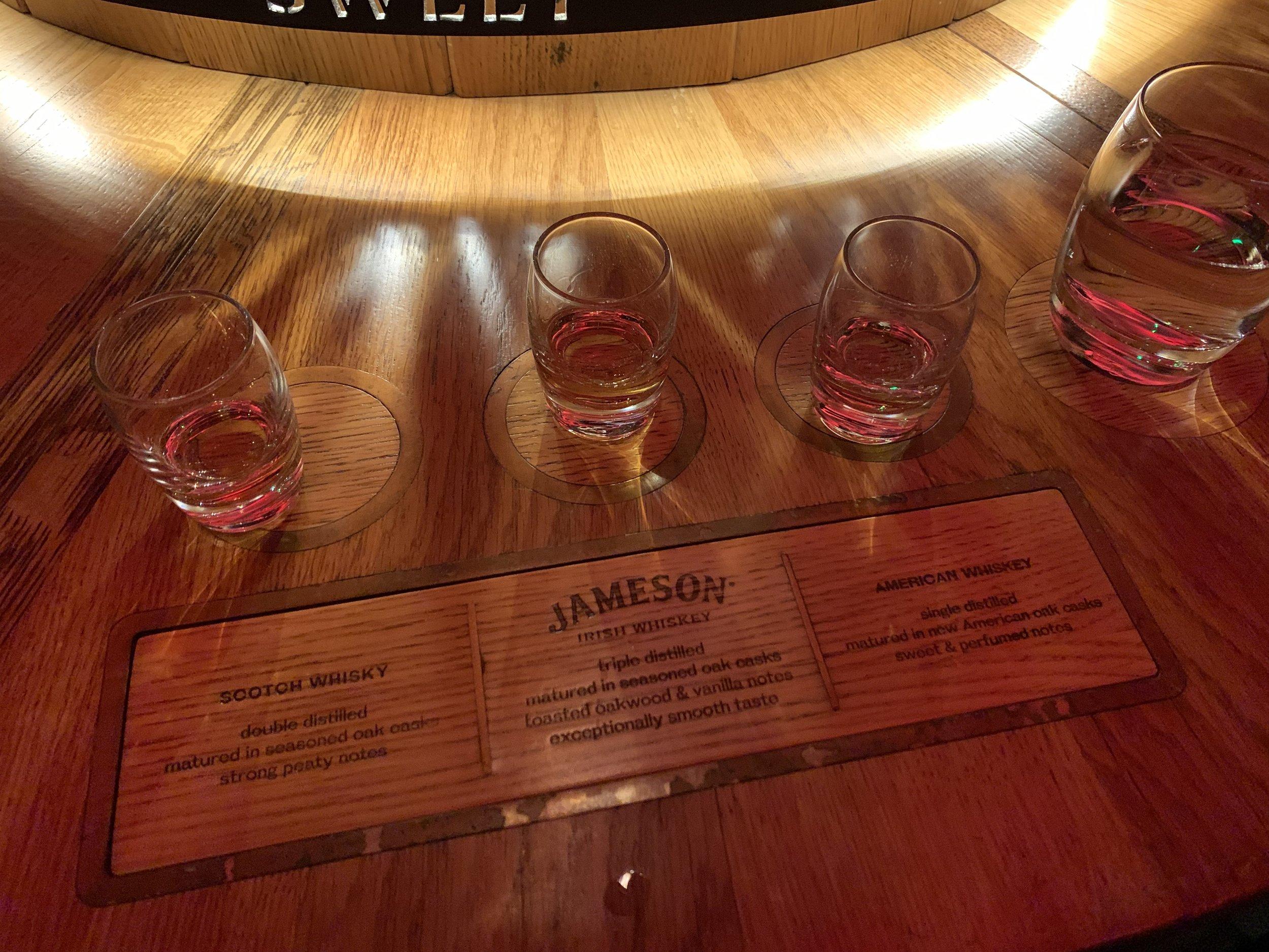 Jameson Tasting | A Little Guide to Dublin | BySarahRae.com
