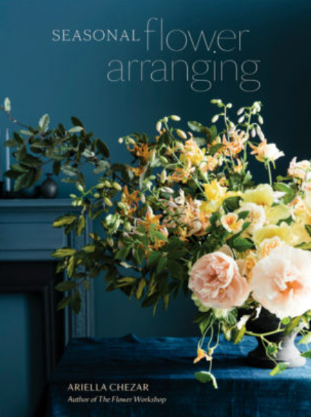 """#3. """"SeasonalFlower Arranging"""" - AUTHOR: ARIELLA CHEZARWHY WE LOVE IT: This book is not only filled with gorgeous photos of different seasonal floral arrangements. I love that it includes detailed instructions on how to re-create dozens of floral designs, as well as inspiration and techniques that allow you to create your own unique piece of art.THE JUICY DETAILS: Having fresh flowers in my home is something so important to me, and creating floral arrangements that use local, in-season flowers are not only more affordable, but the arrangements create a deeper connection between our home to our region and current season. Ariella Chezar teaches us how to create a charming spring bouquet for Mother's Day to a bold garland for a summer wedding, and from a luscious Thanksgiving table to a wintery holiday wreath. There are arrangements for seasonal holidays, special occasions, and everyday life featuring tulips, roses, peonies, dahlias, and other favorite flowers that are easily found at farmers' markets, local shops, or grown in your own backyard.WHERE TO BUY: $25.00, Target"""