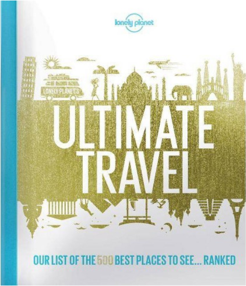"""#4.""""Ultimate Travel"""" - AUTHOR: LONELY PLANETWHY WE LOVE IT: I love that Lonely Planet does everything they can to make these five hundred locations as accessible to their readers as possible. They provide tips on how to get there, when the best times are to visit, and additional insights that most tourists aren't aware of.THE JUICY DETAILS: This is the ultimate coffee table book for anyone who loves to travel. One of my goals is to visit every continent on this earth (only two more to go!). Looking through this book and seeing the places I have visited gives me a strong sense of accomplishment, but also seeing hundreds of interesting and beautiful places humbles me and reminds me that this world is so incredibly large and that there is still so much to see. Every time I open it up, I feel a strong sense of wanderlust and can't wait for the next time I hop on an airplane.WHERE TO BUY: $13.99, Target"""