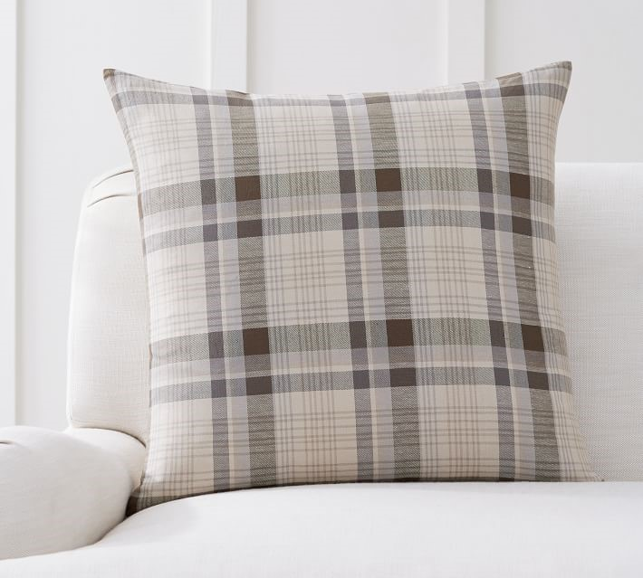 4. Plaid Pillow - Nothing screams fall quite like plaid, but I love how this pillow is still a neutral so it can be used year-round. This would look lovely on any sofa or armchair.