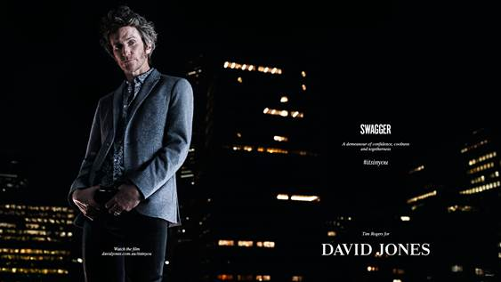 David Jones #ITSINYOU