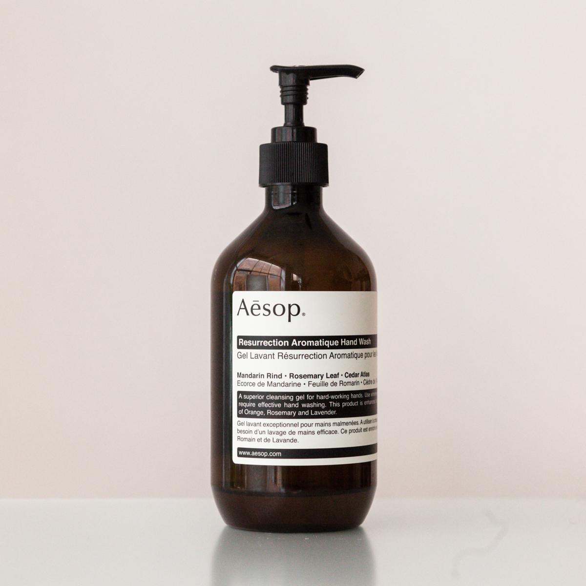 Aesop™Resurrection Aromatique— hand wash.