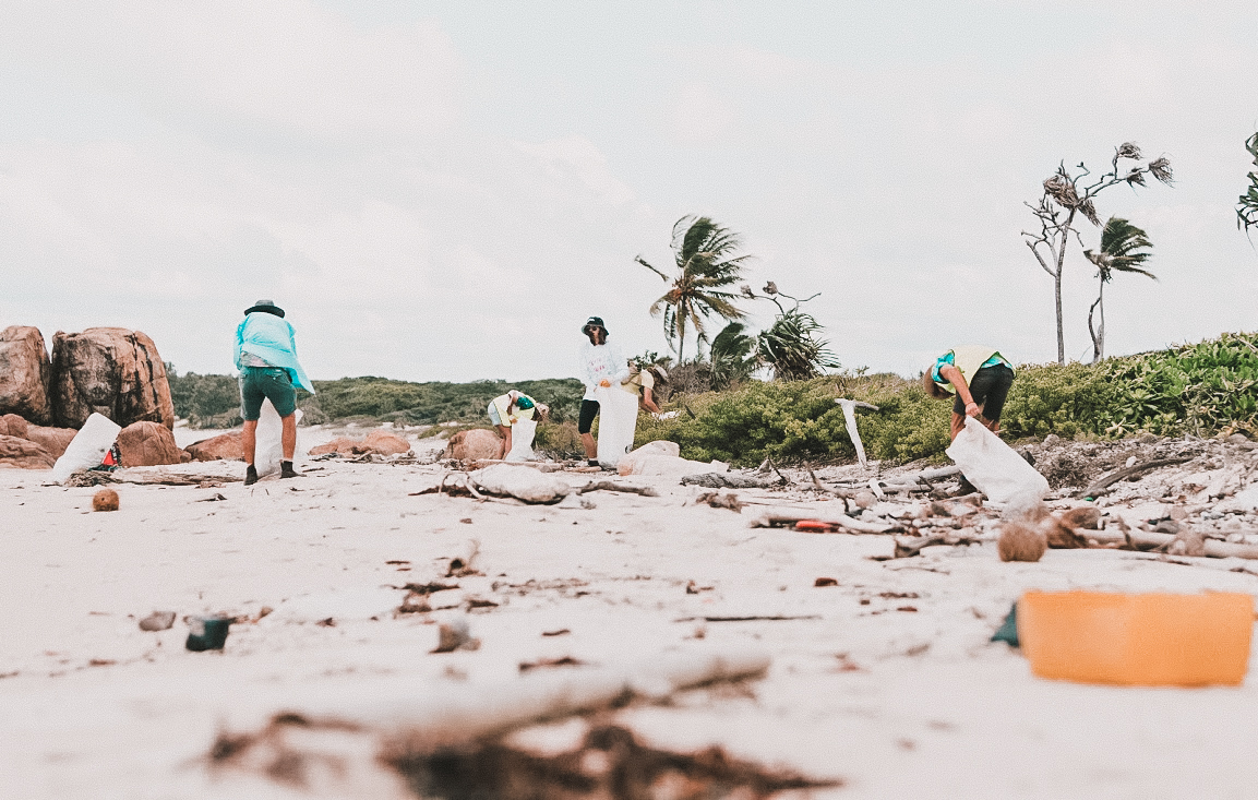 Clean Coast Collective  is a NFP founded in response to the growing amount of plastics in our oceans and on our beaches.