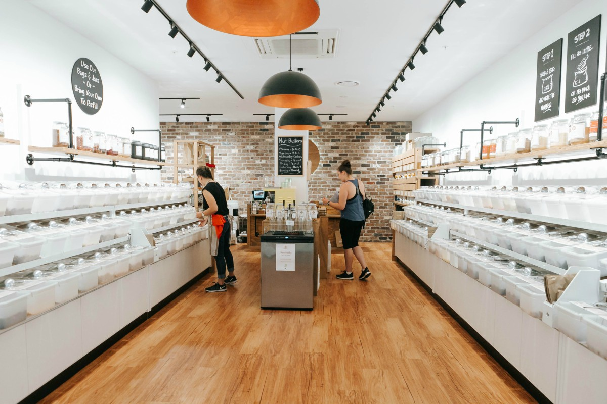 The Source Bulk Foods is championing the zero waste movement with over 40 stores across Australia.  Image via  Hunter Hunter .
