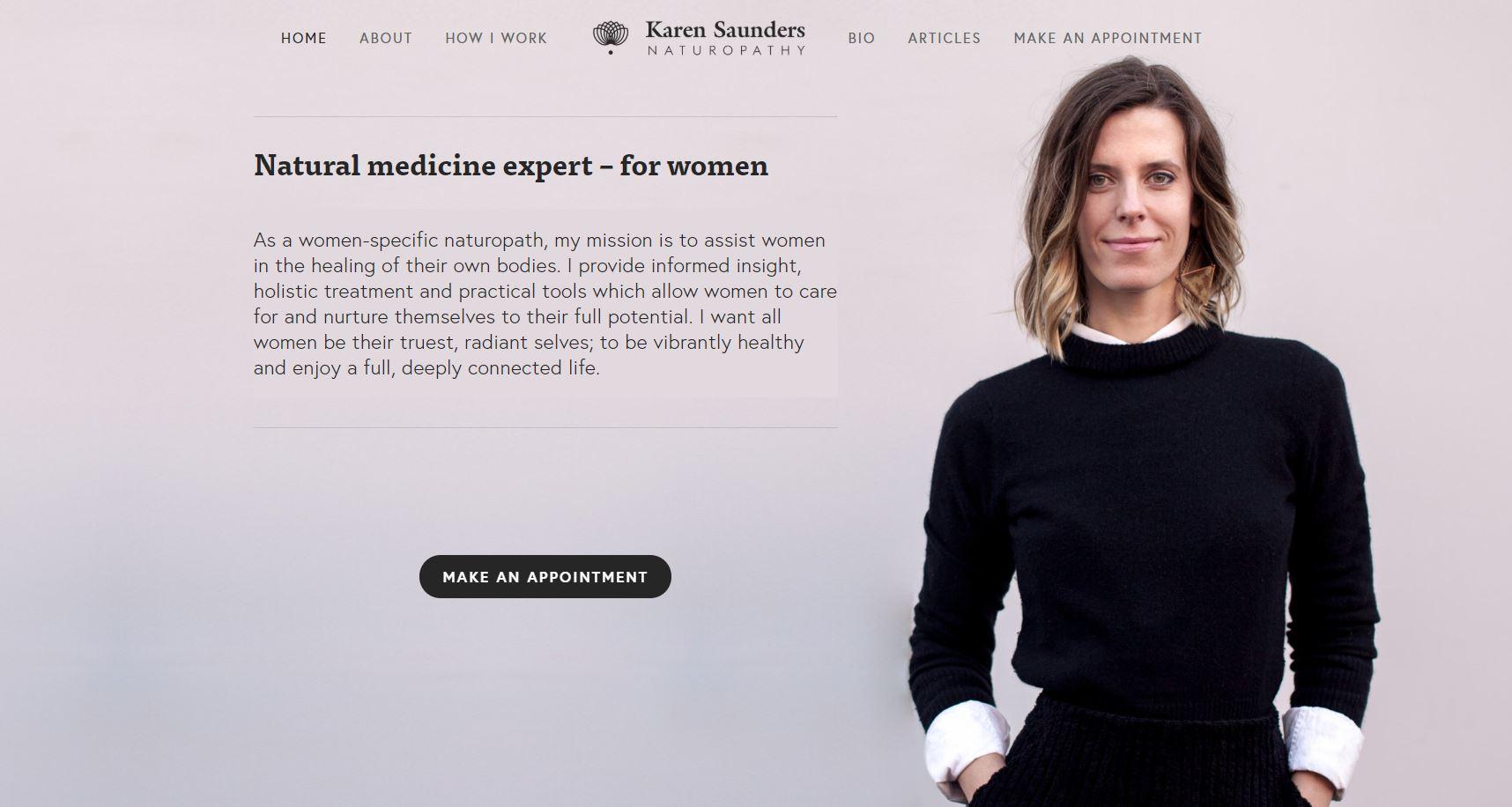 Karen Saunders Naturopathy.