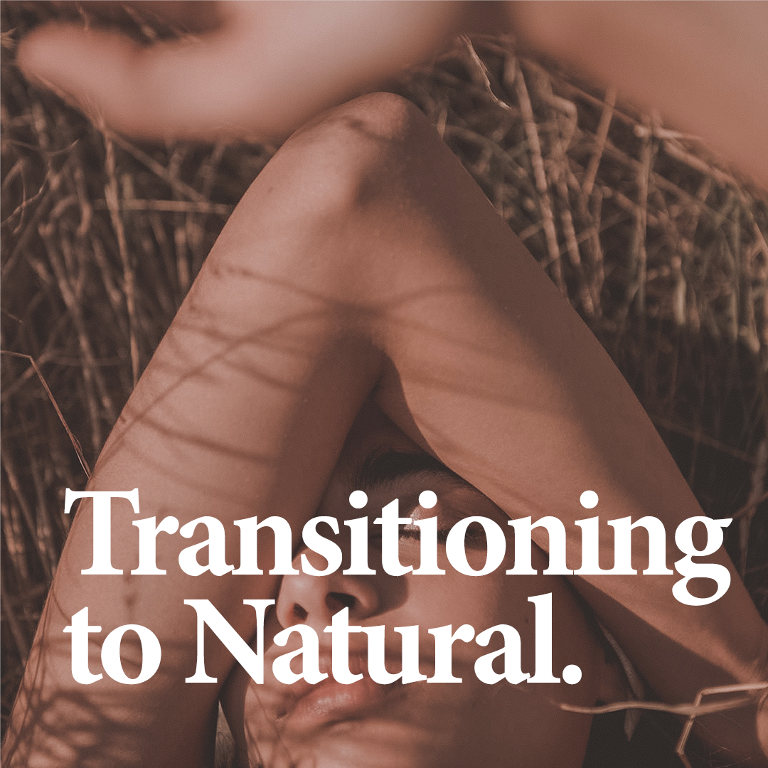 """RELATED:  Thinking of making the switch to natural products? Read our article     """"The Transition from Synthetic to Natural: What to Expect""""   ."""