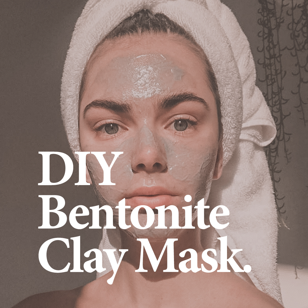 RELATED    Bentonite Clay Mask recipe by our in-house Naturopath Karen Saunders.