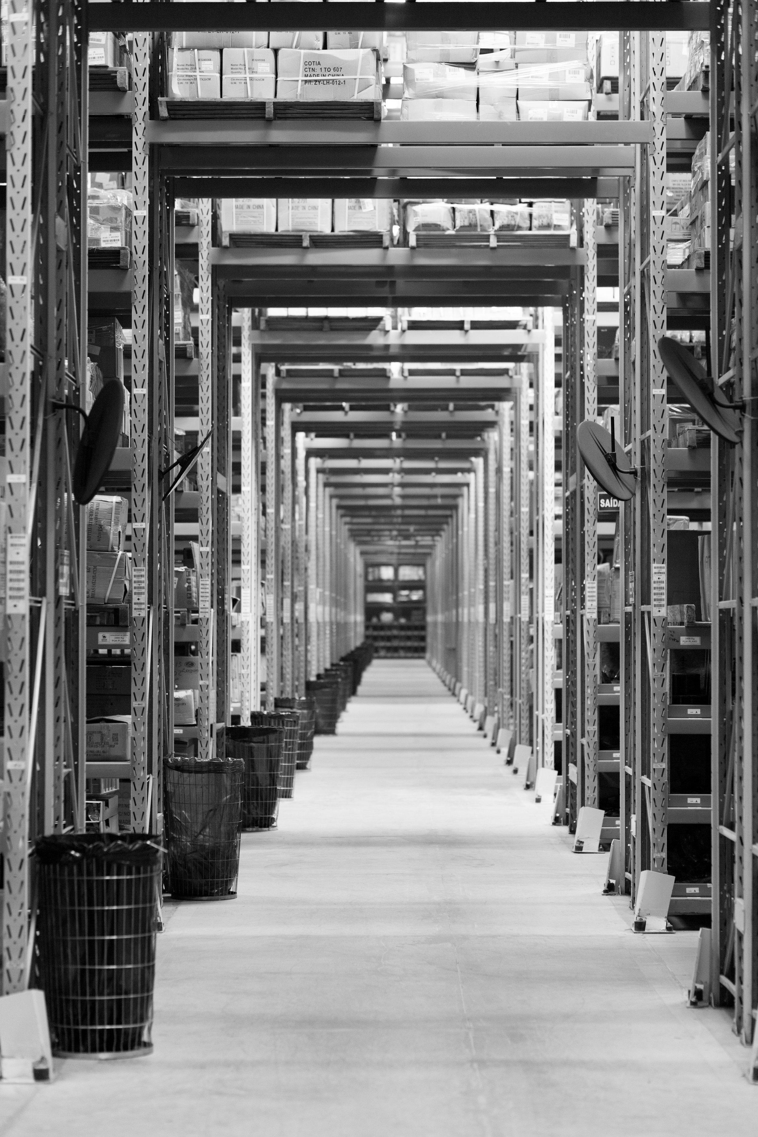Smart Warehouse Hallway Wi-Fi HaLow