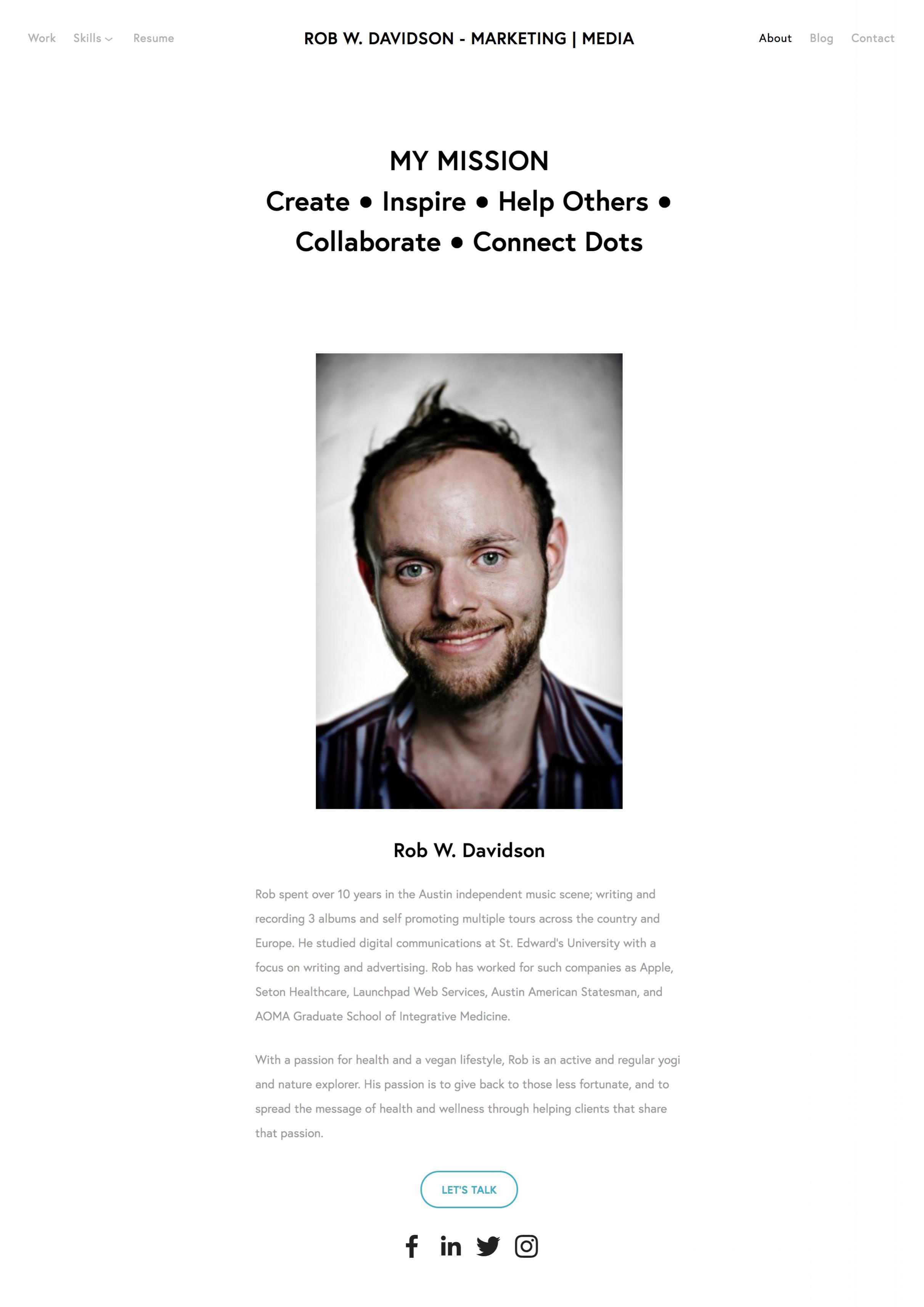 About Rob W  Davidson   Digital Marketing Leader   Austin  TX — Rob W  Davidson   Marketing   Media 2.png
