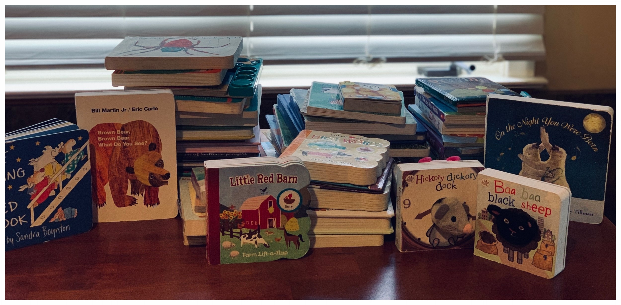 The books I kept for the girls