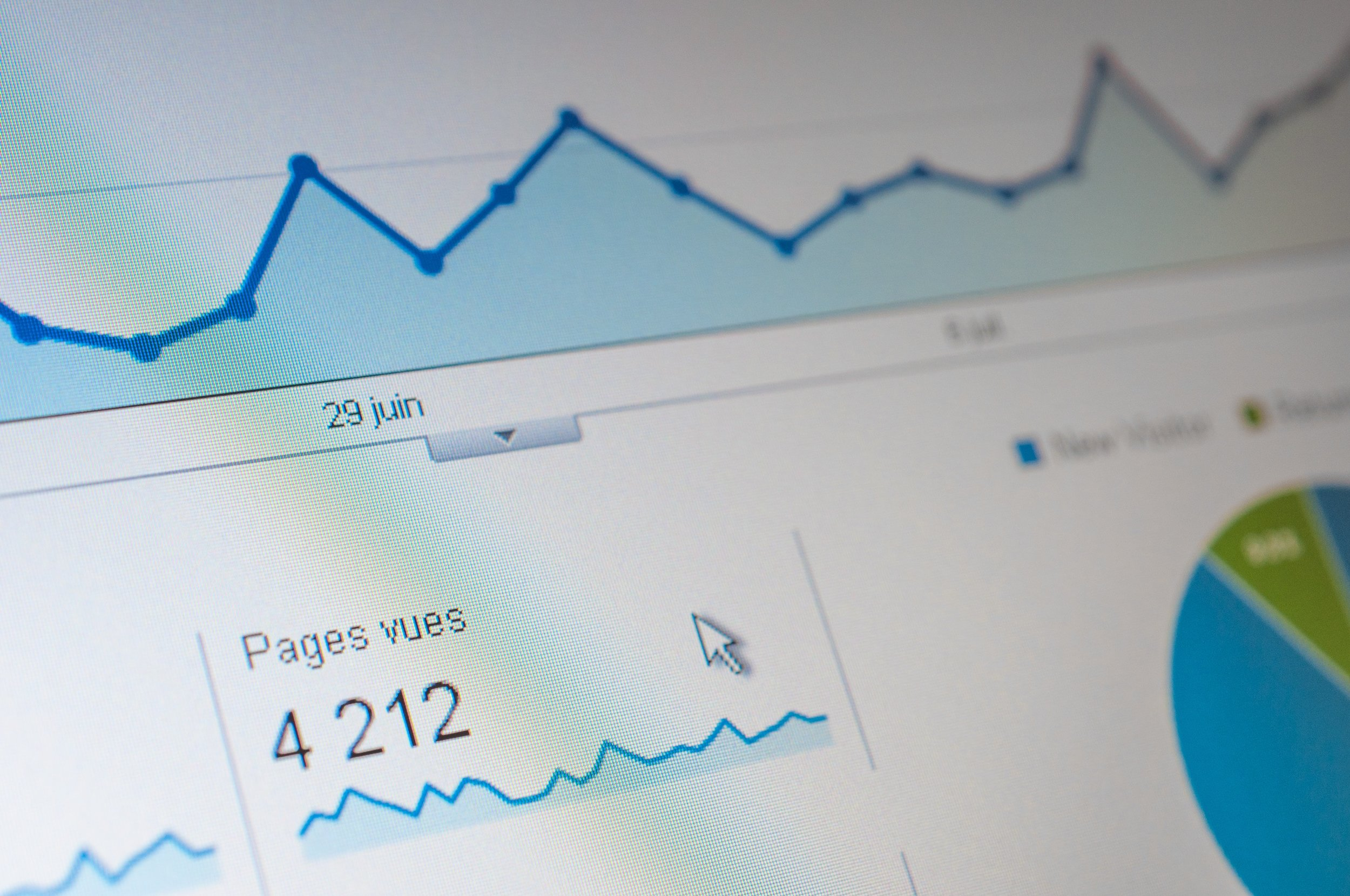 SEO Metrics. Photo by  Agence Olloweb  on  Unsplash