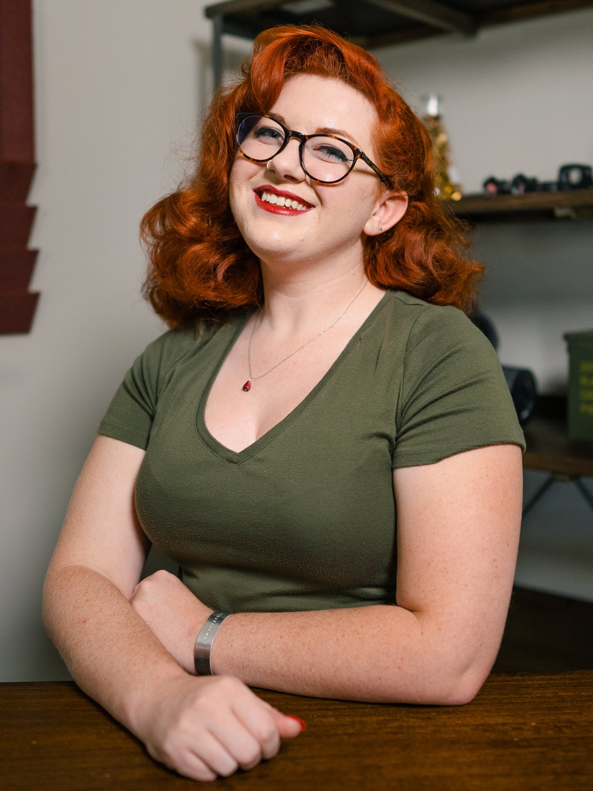Portrait of freelance writer and editor Allison Goodwin.