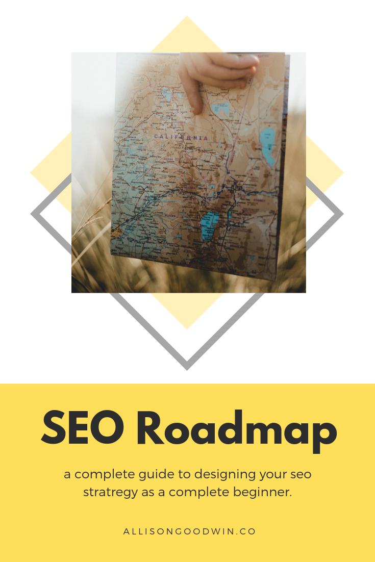 Pinterest image: SEO Roadmap