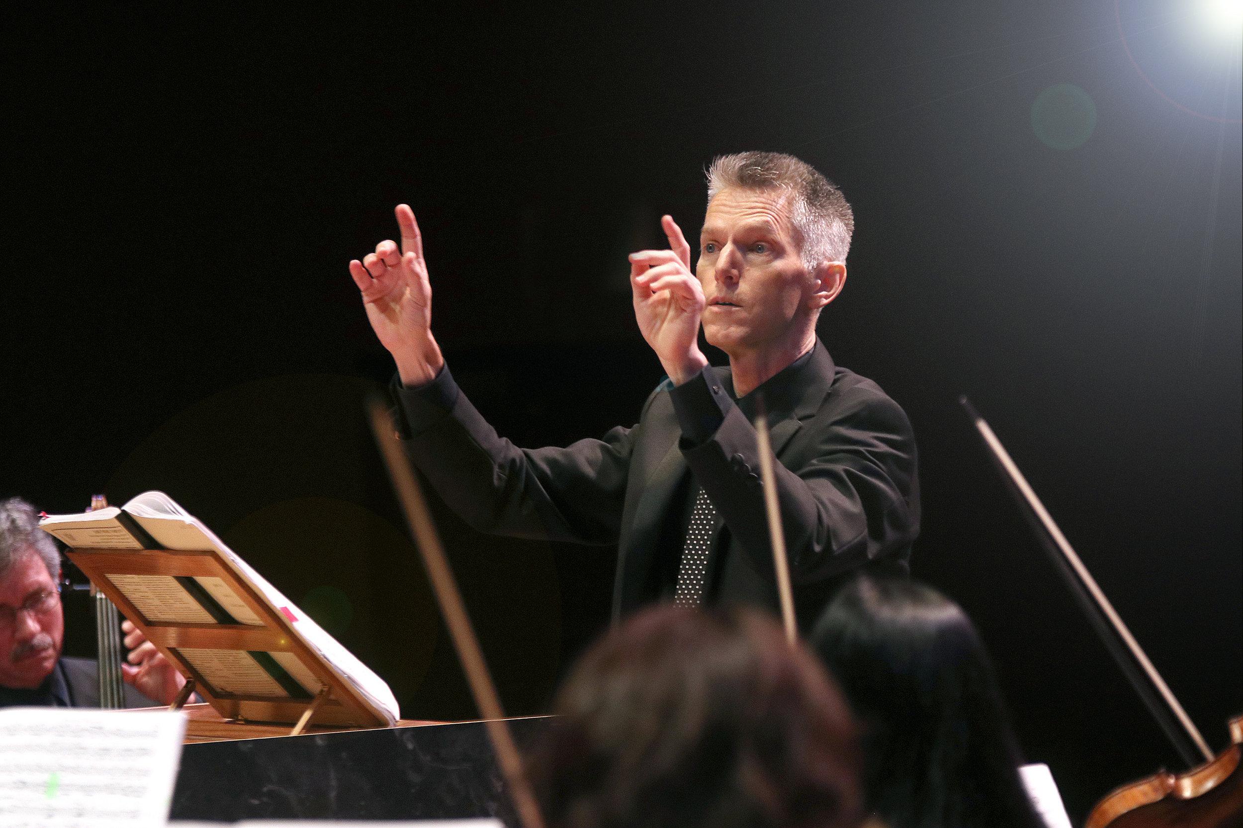 Matthew Dirst, organist, harpsichordist, conductor