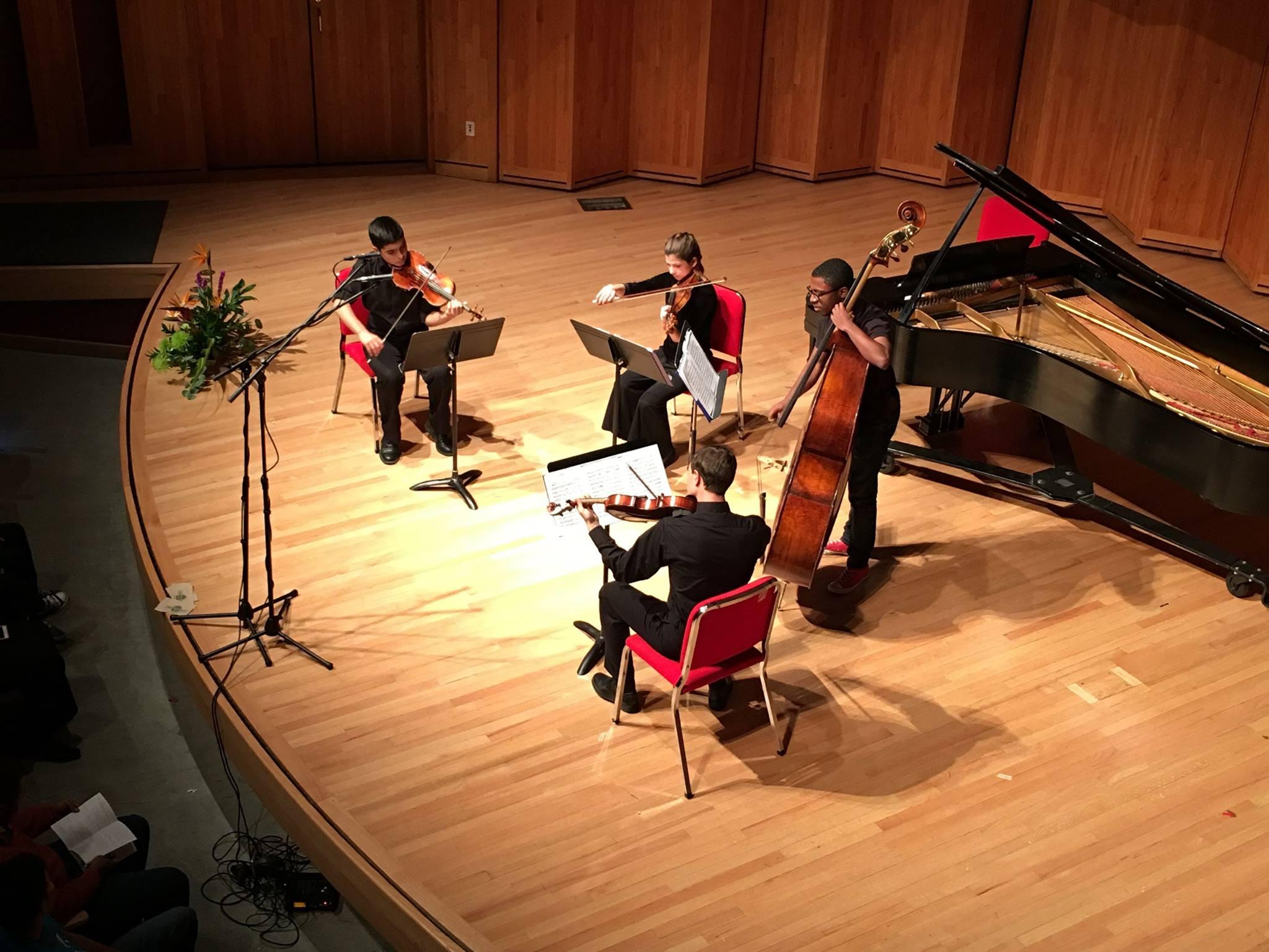 Student Recital, Chamber Intensive '17