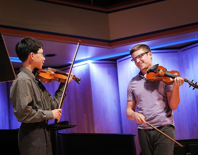 Violin masterclass with Michigan Opera Theater Concertmaster Eliot Heaton. Sean Raften from Soldotna, Alaska performed La Folia. Bravo!! 👏