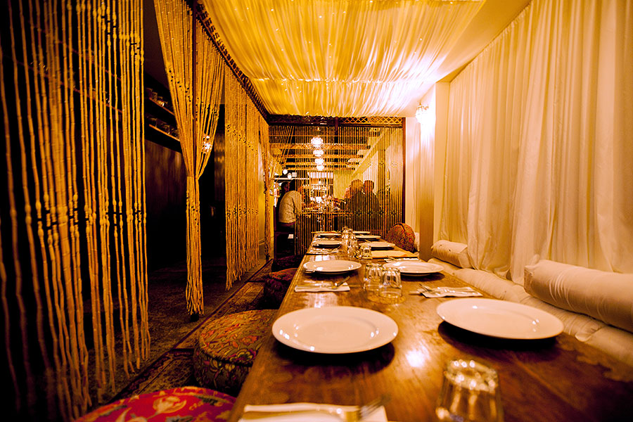 Bombay Bliss Maroochydore - Rustic Restaurant Fit Out Design