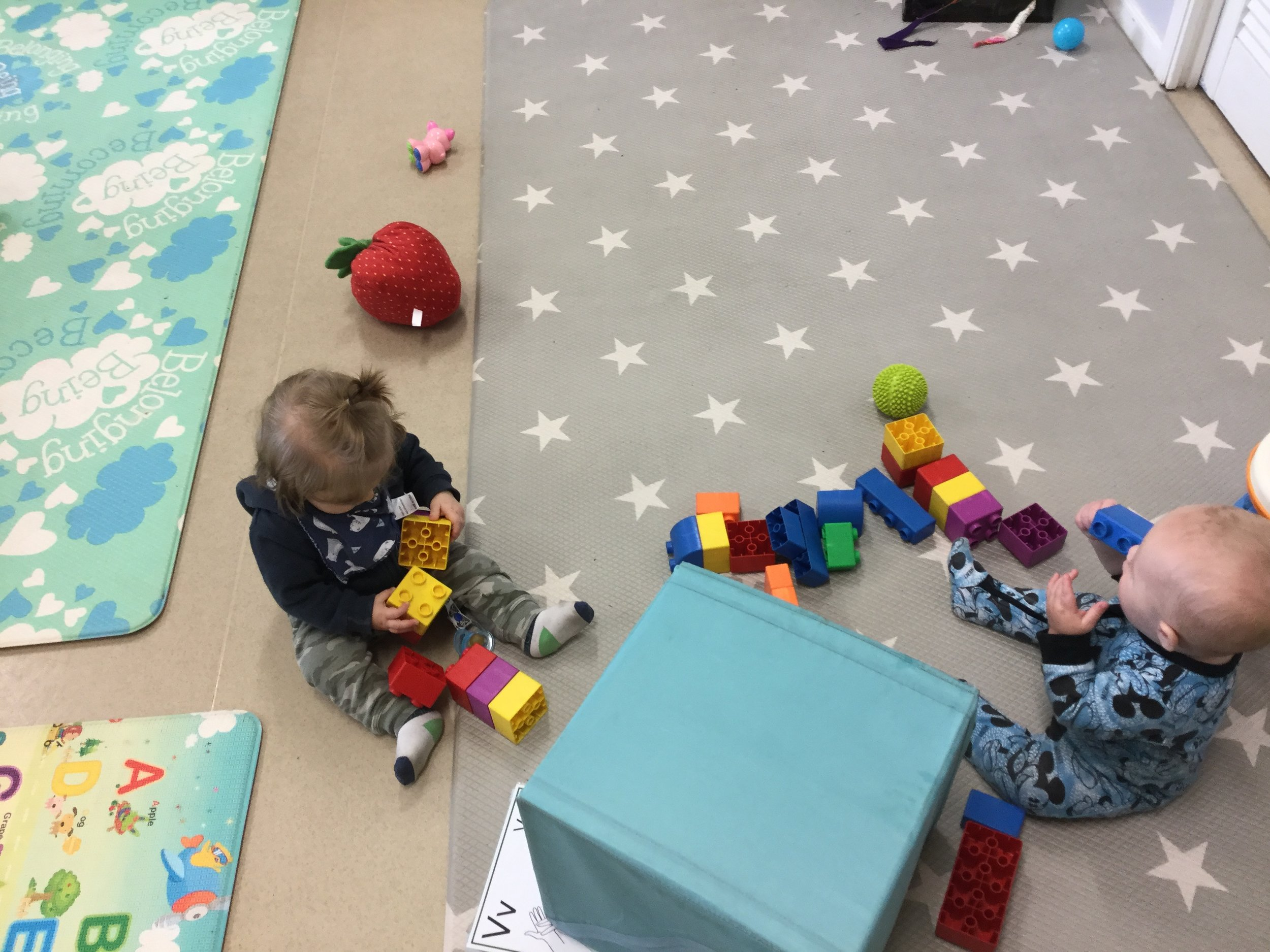 Care and playtime for babies