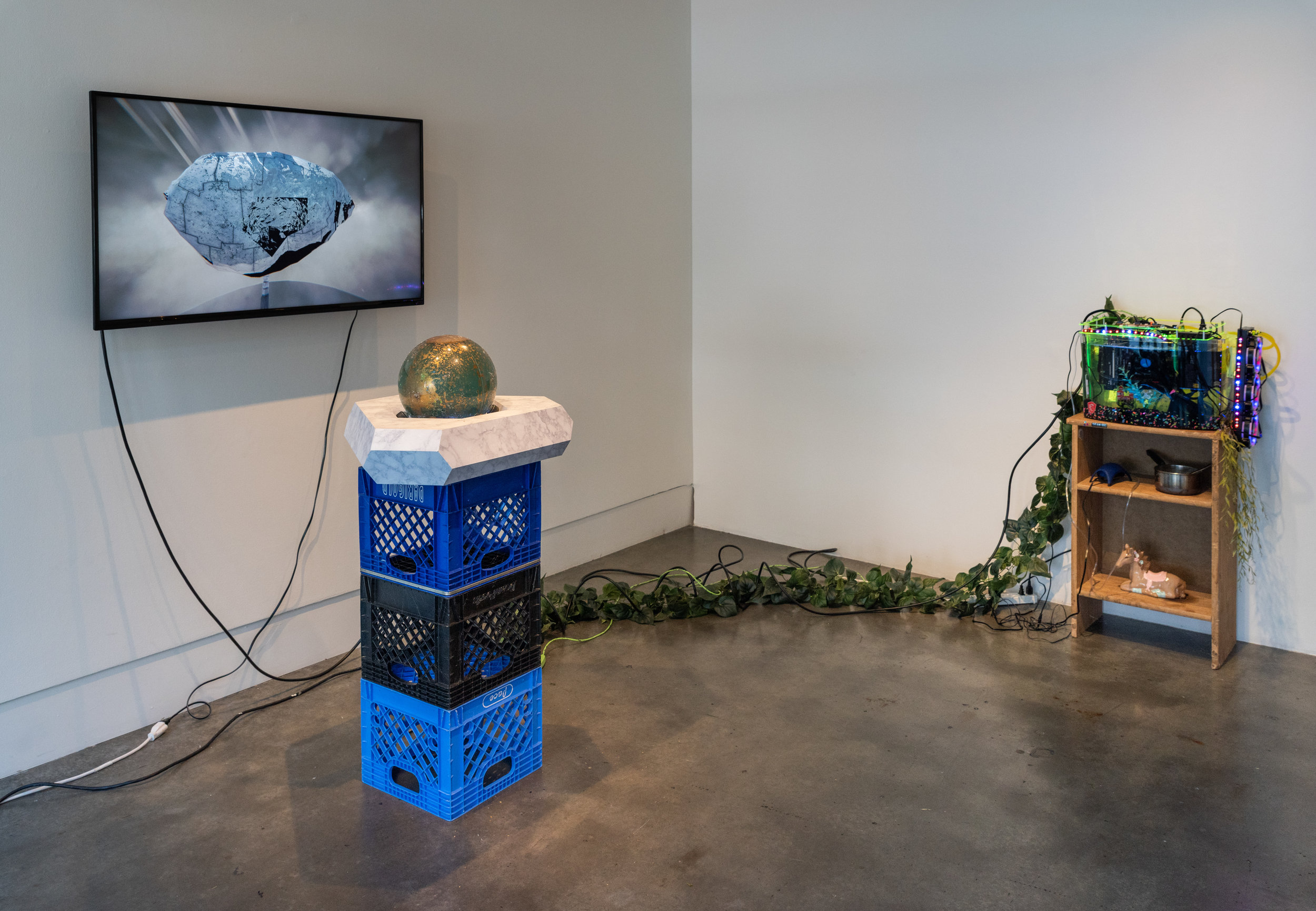 Tabitha Nikolai ,  Utopia Without You   (installation view) , photo Mario gallucci