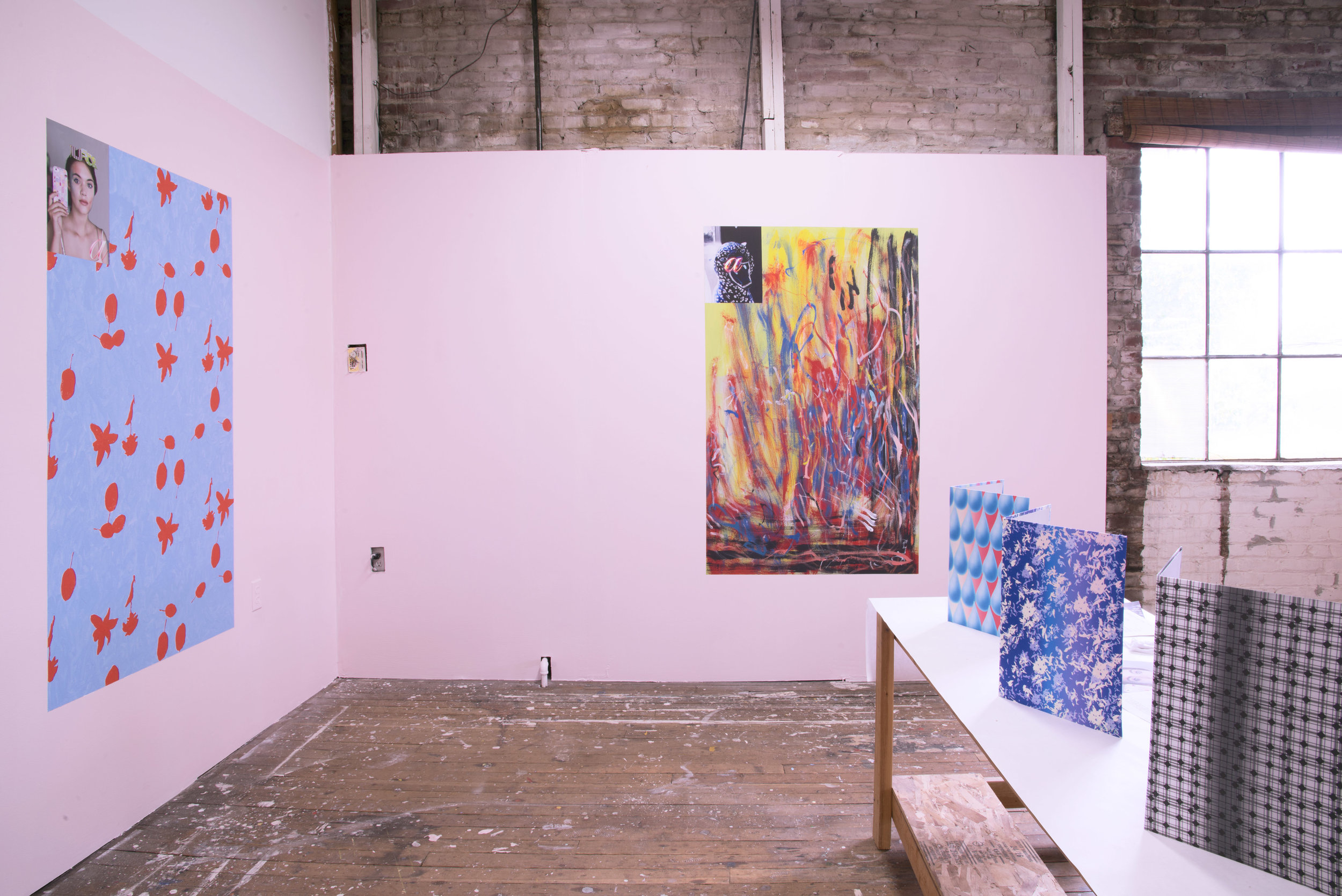 Carter Mull, ;a)5516, \a)142, /a)13&3, installation view