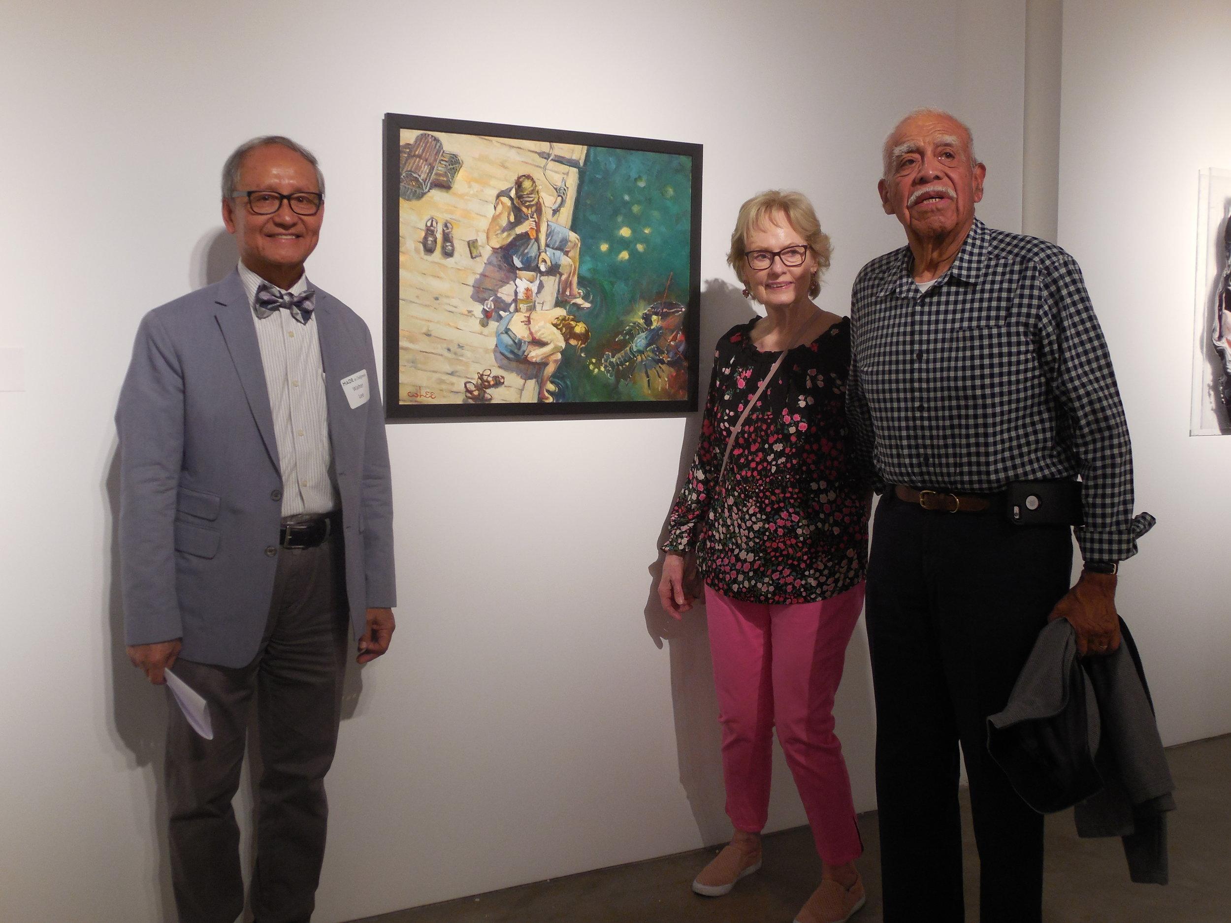 With Jan Ortega(PYLAA Secretary) and Manny Ortega.