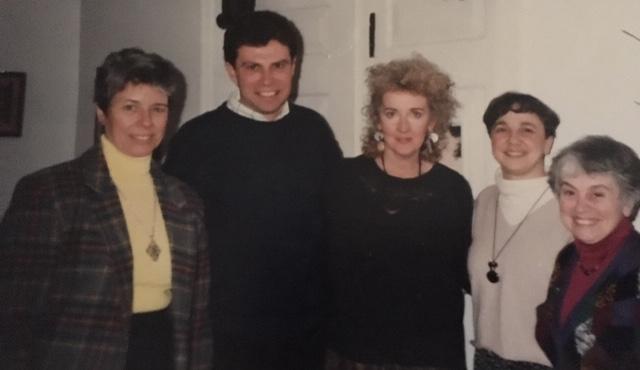 Sister Rosemarie Greco, Alan Colavecchio, Julia Cameron, Mary Lou Tanner, Sister Jo-Ann Iannotti