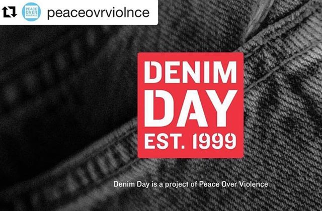 Shout out to @peaceovrviolnce and @yasmin.dunn for all the great work they do on #denimday. Robot Rumpus is a proud sponsor!