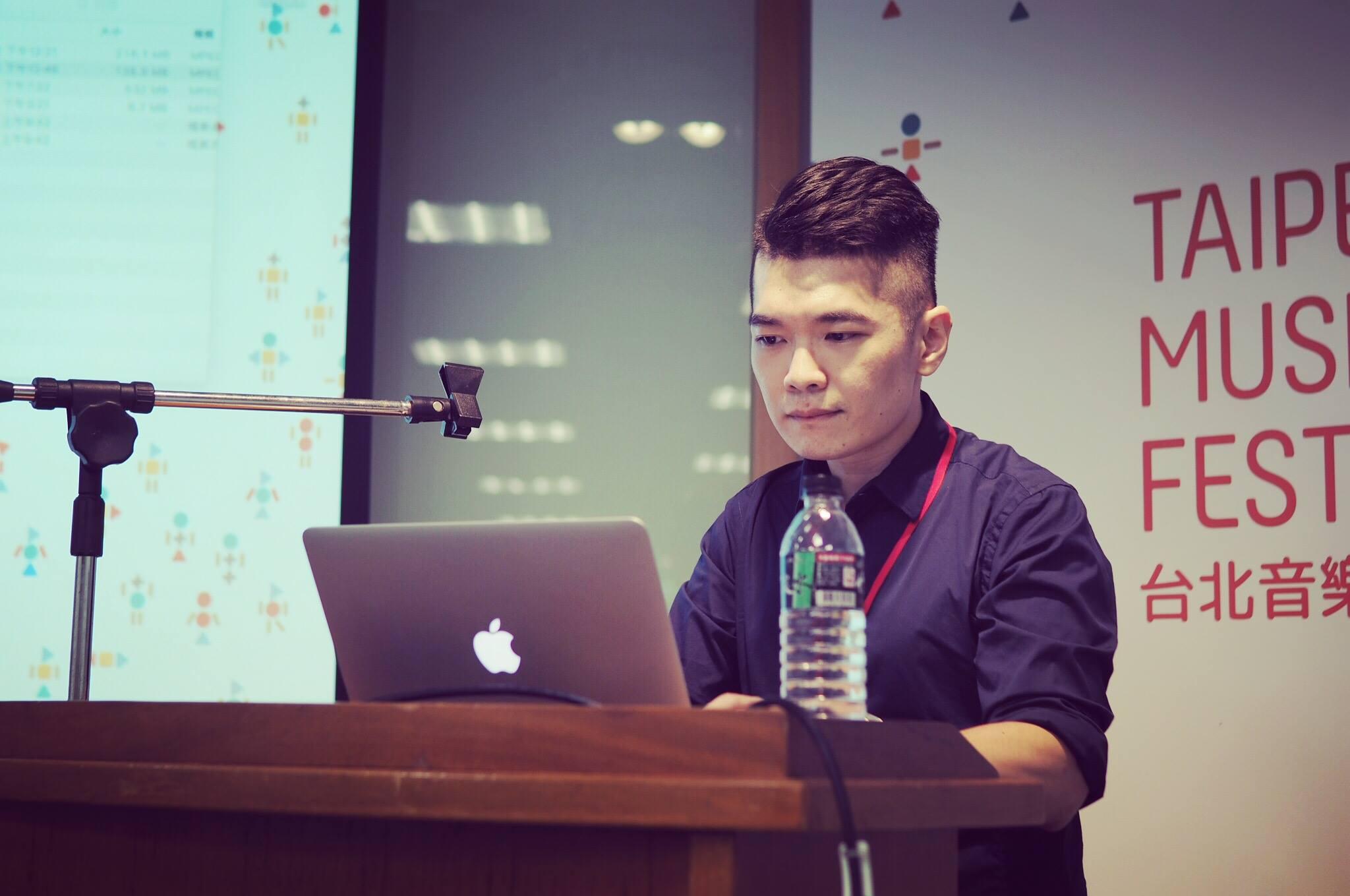 王信翔2018在台北音乐设计节(摄影:加点音乐)