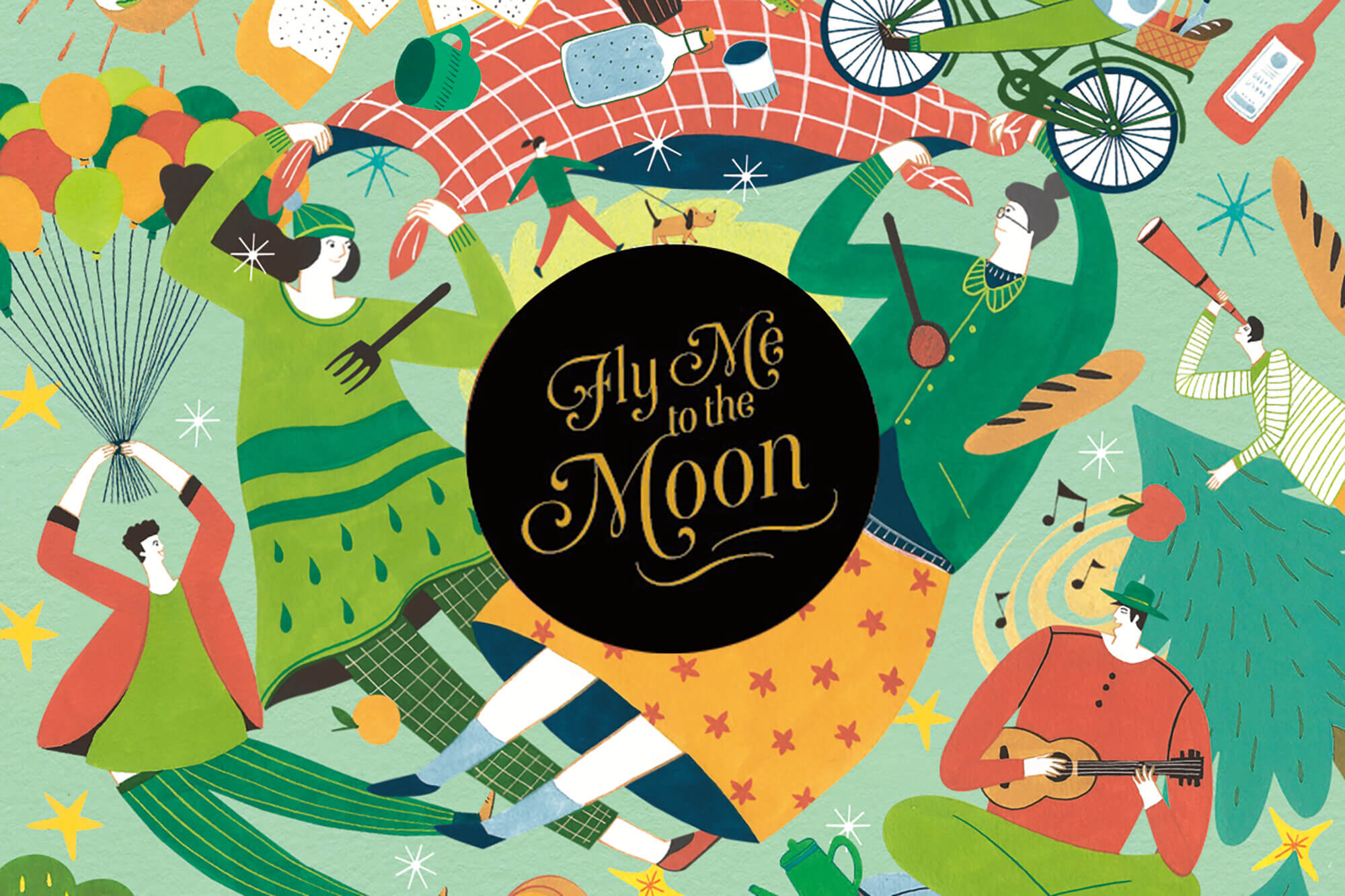 Fly me to the moon 国宾大饭店中秋礼盒 ,与Accent collective设计公司合作。