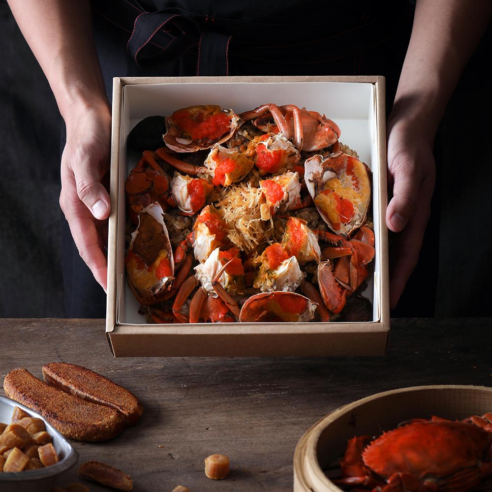 放置食物的纸盒,印制时针对油墨与纸质挑选花了不功夫。