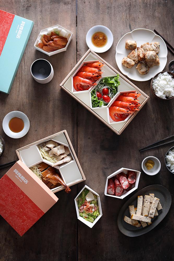 吴孝儒系统化了大大小小的包装盒,让外带模式有了依循。