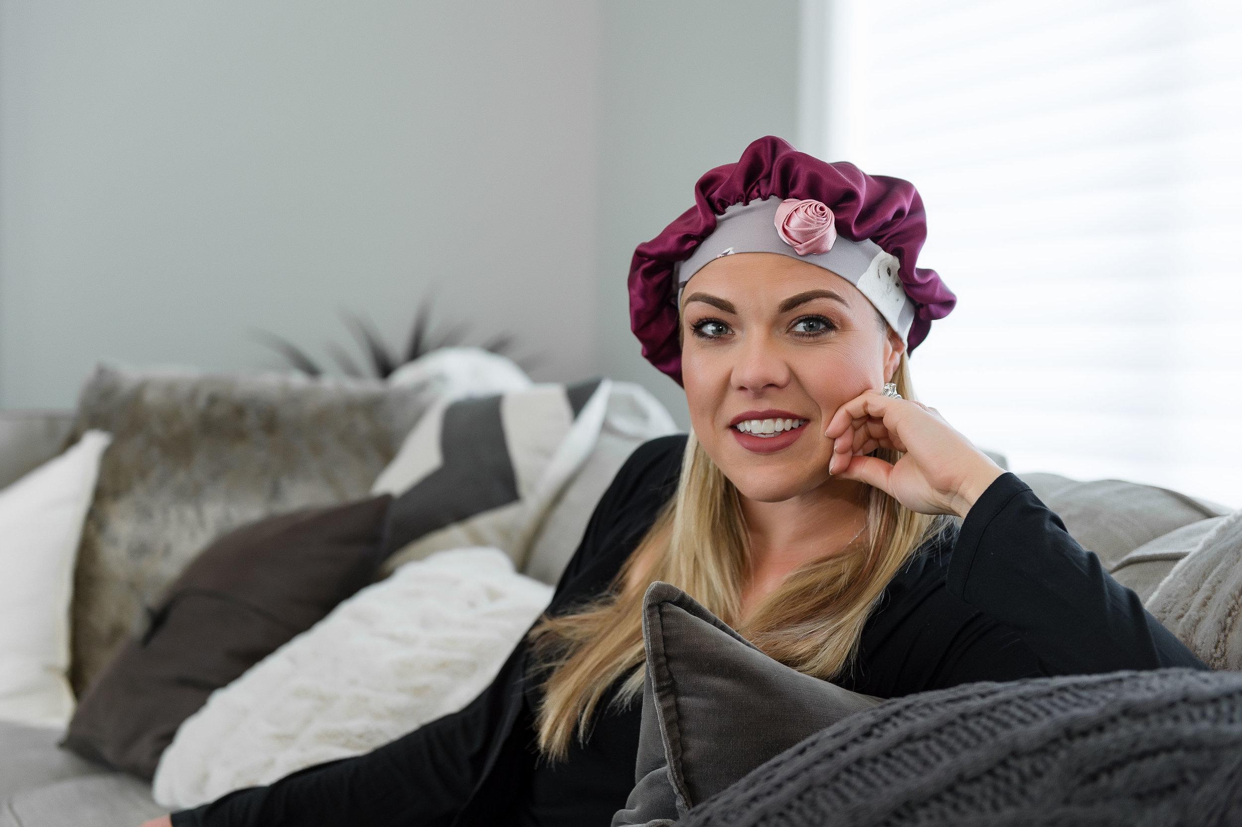 silk protective hair caps for sleep