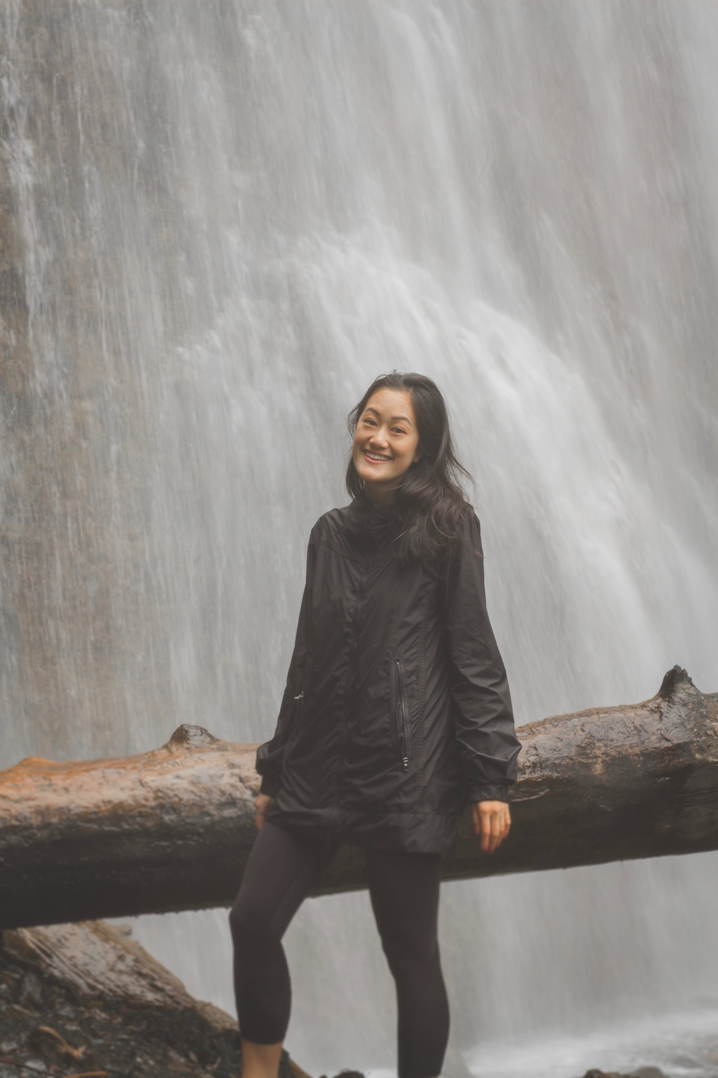 Selina at Brandy Wine Falls in Vancouver, BC. Photo captured by  Emel Photography .