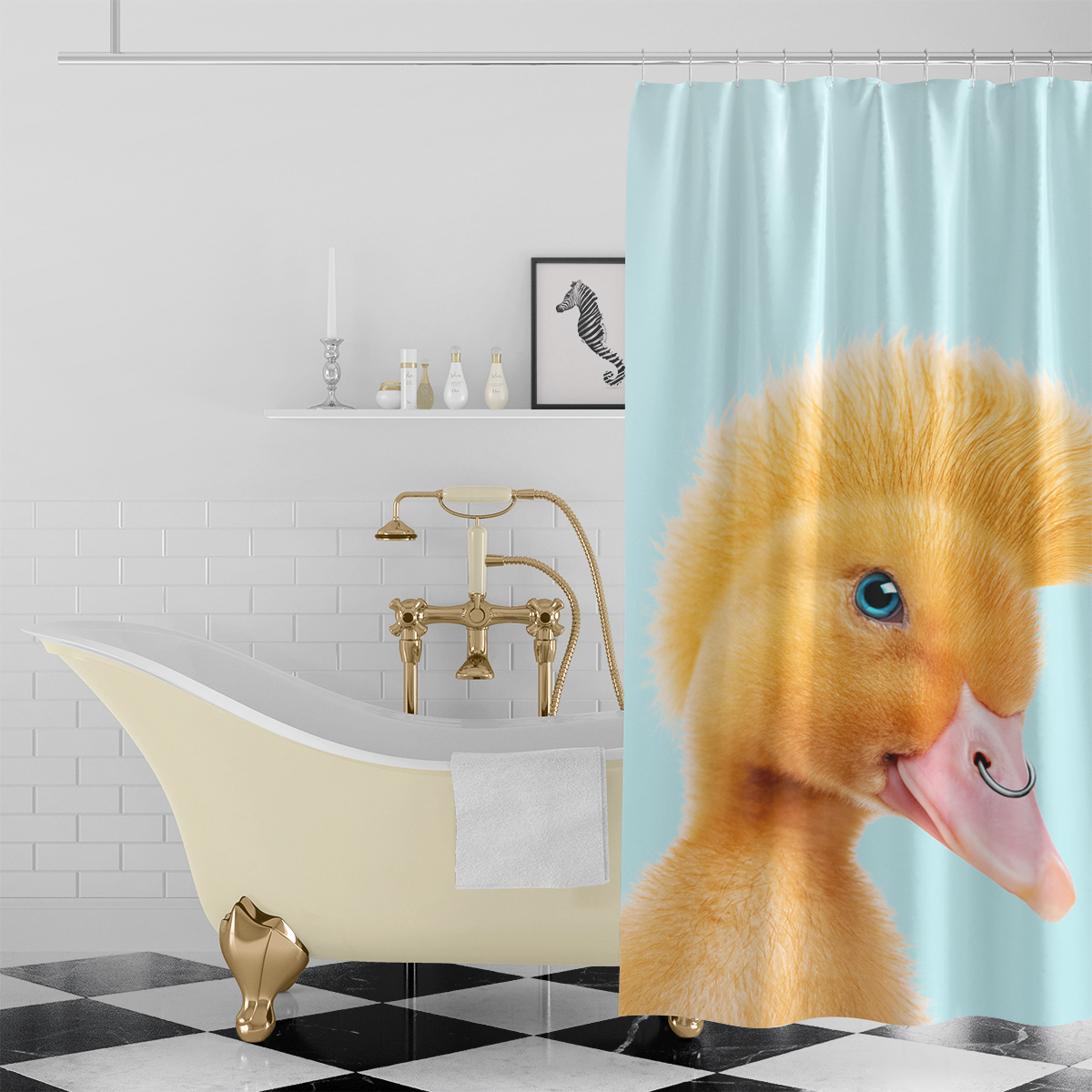 Bathroom - Shower Curtains, Towels, Bath Mats & more