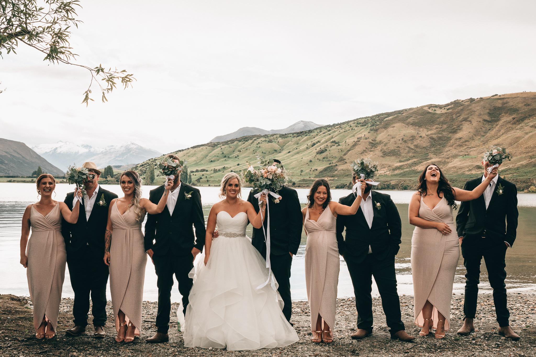 Jade + Kahu - Intimate Wedding // Dublin Bay, Wanaka