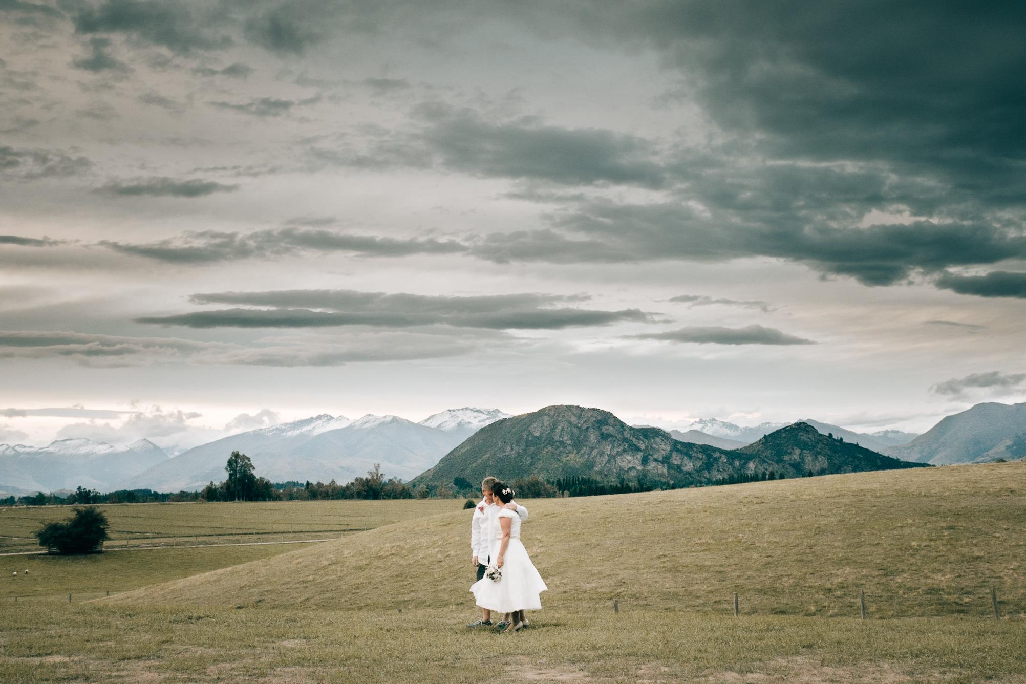 Gill + Ross - Intimate Wedding // Mt. Barker, Wanaka