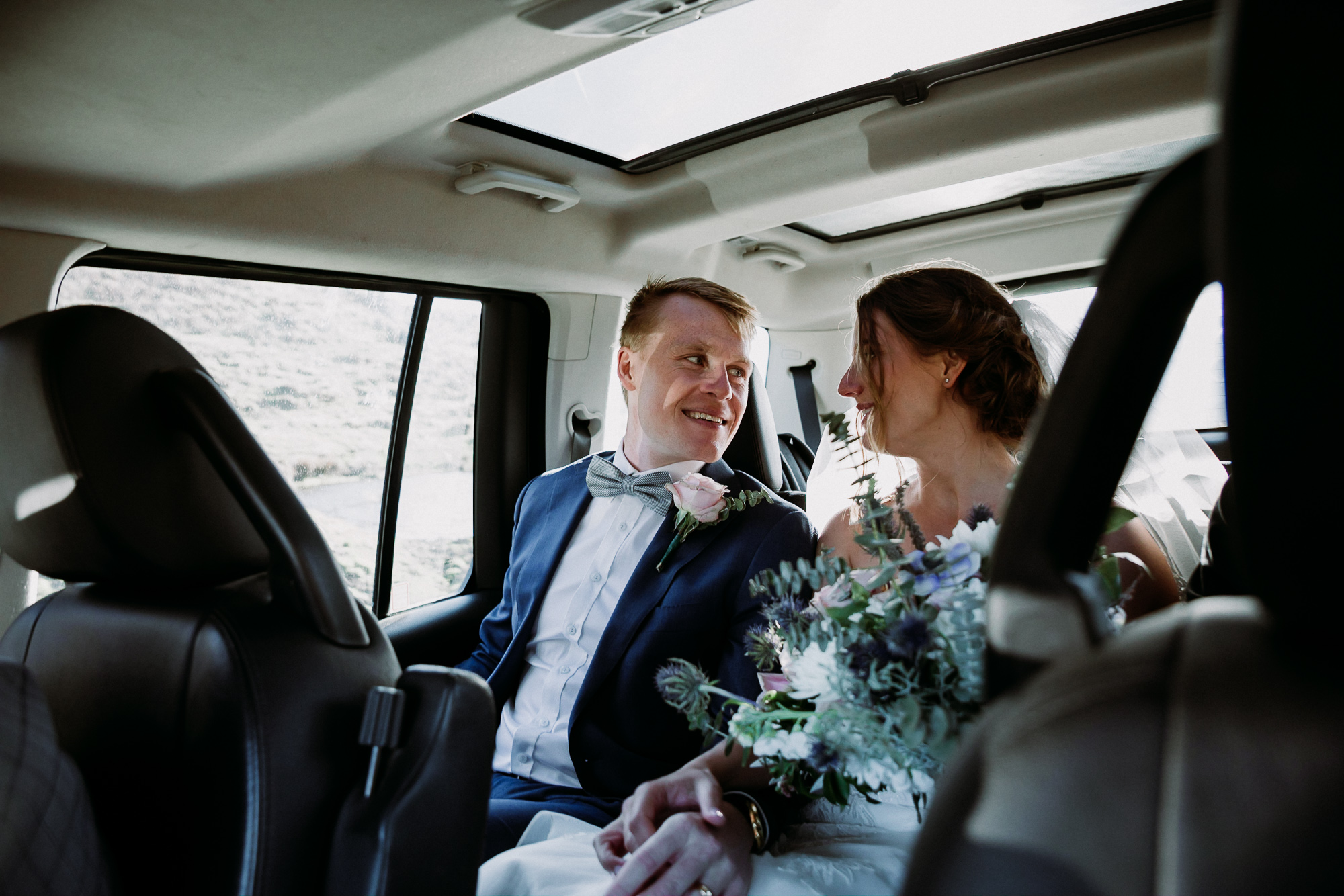 Britta + Matt - Wedding // Rippon Vineyard, Wanaka